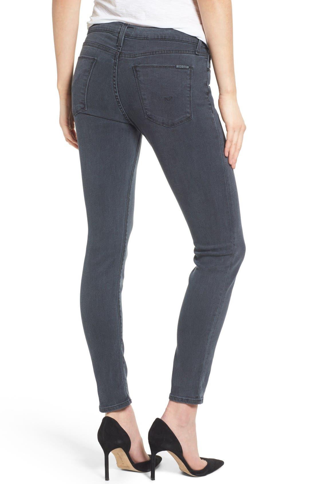 Alternate Image 2  - Hudson Jeans Collette Ankle Skinny Jeans (Penumbra)