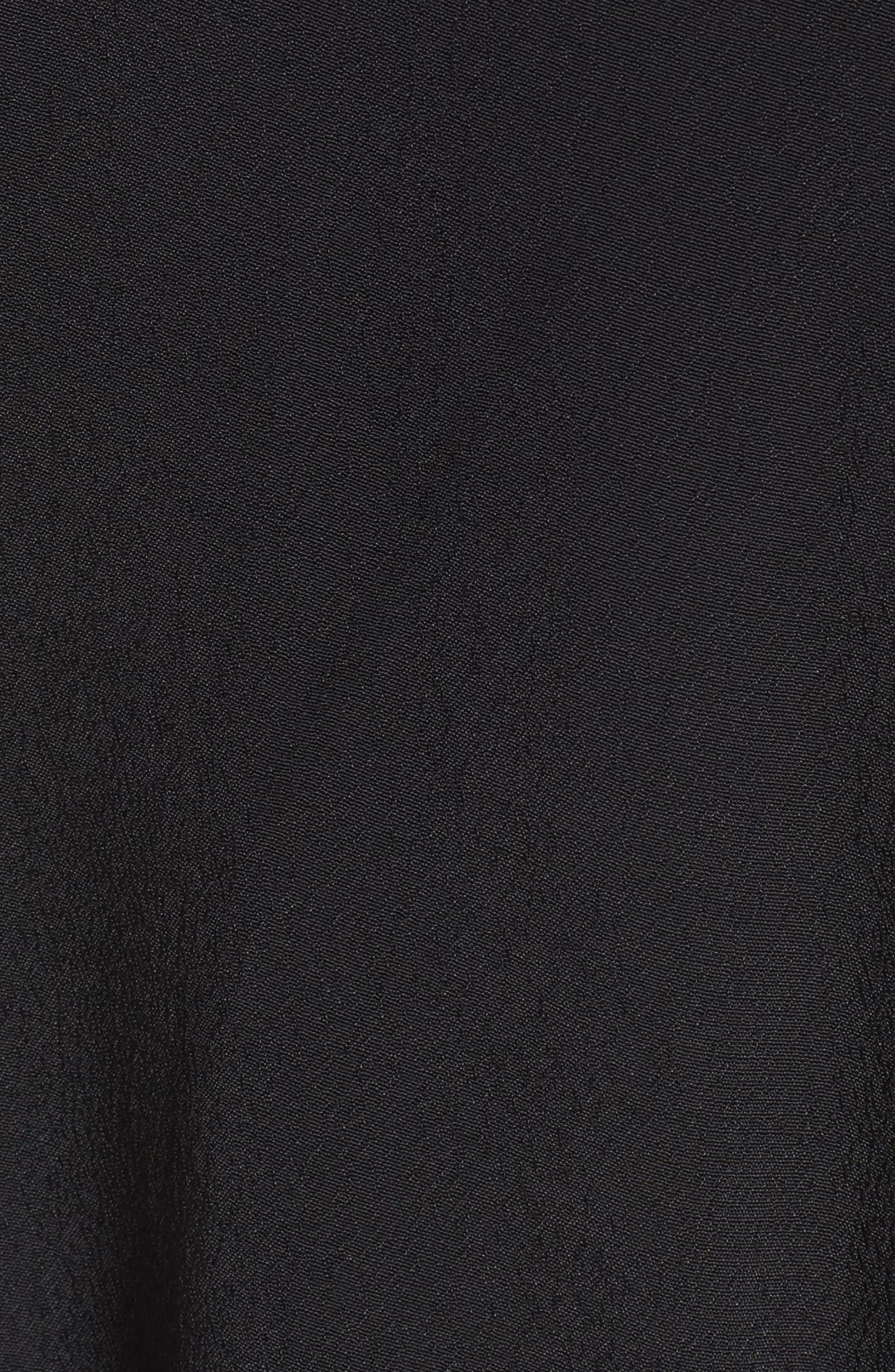 Alternate Image 5  - ASTR the Label Crochet Sleeve Wrap Dress