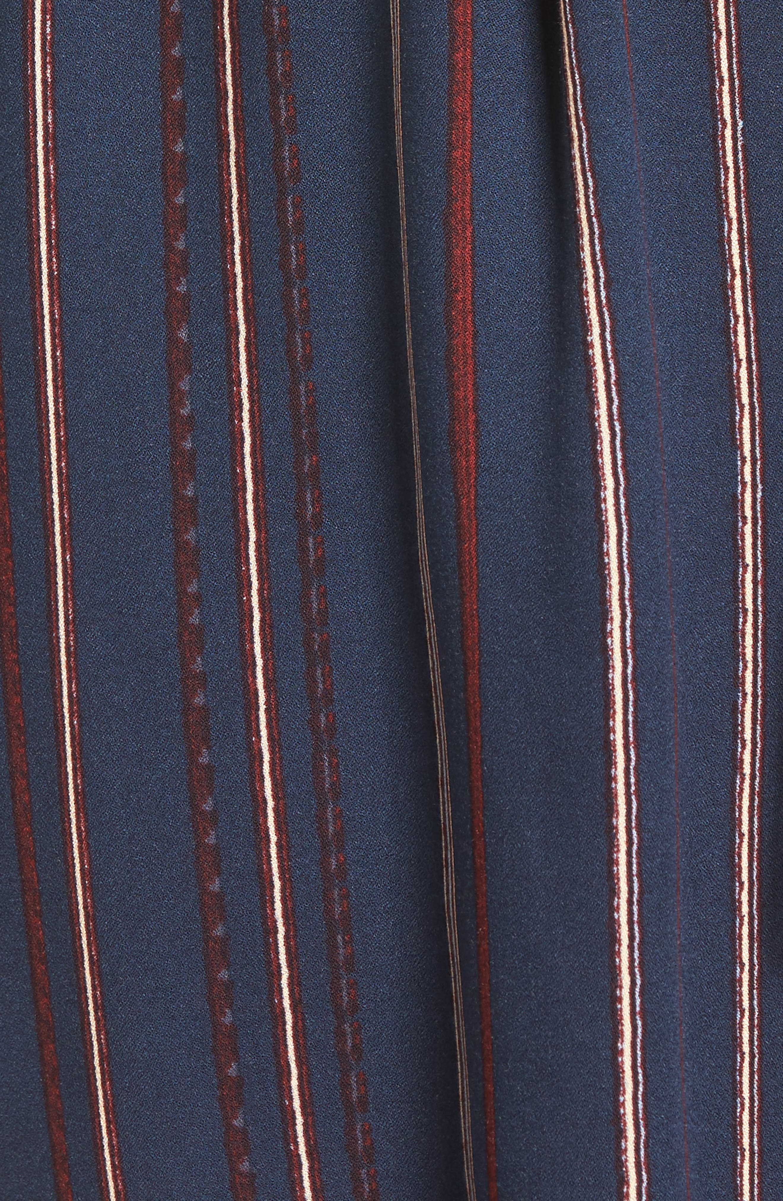 Alternate Image 5  - Lush Stripe Off the Shoulder Shirtdress