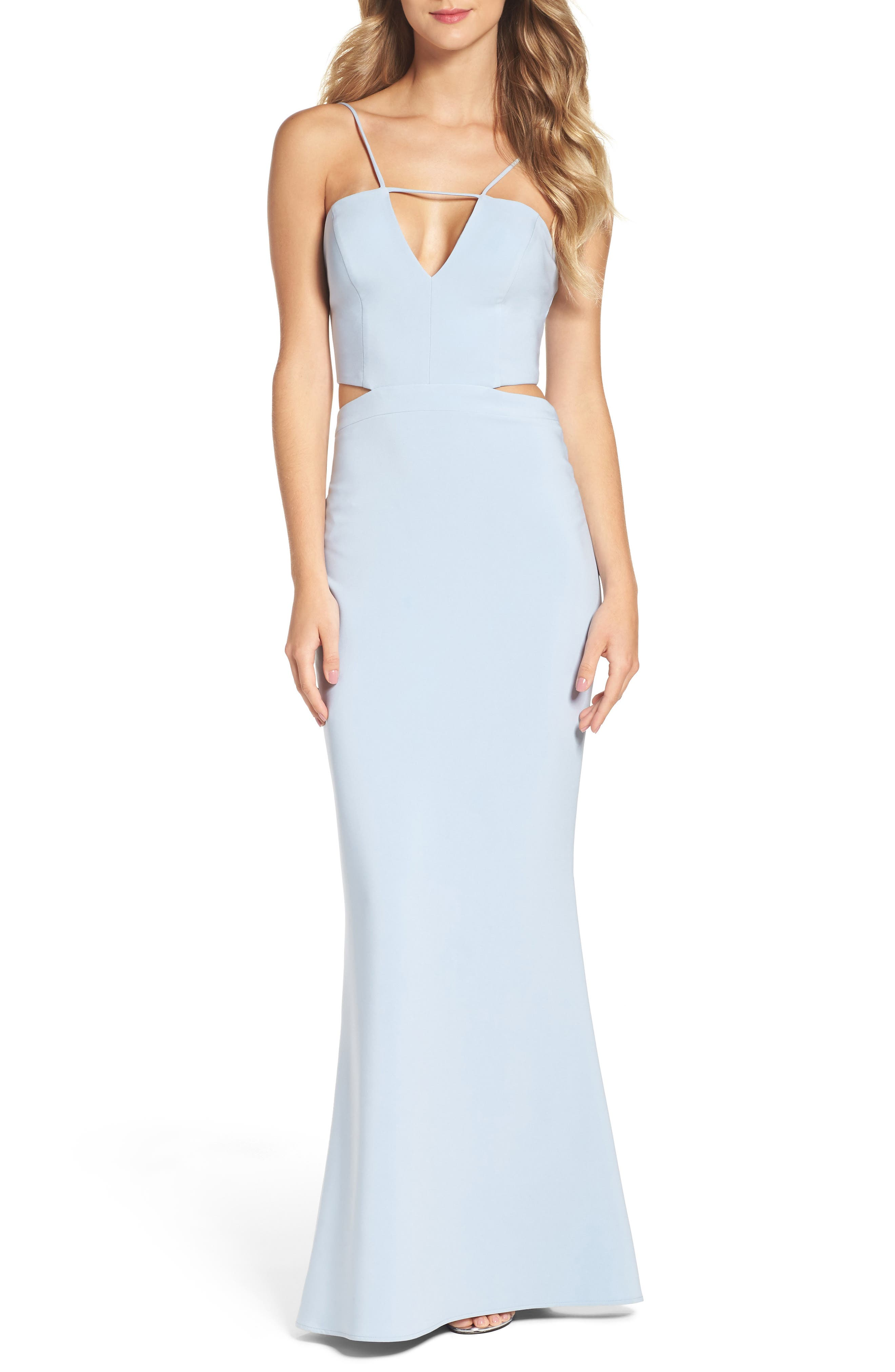 Maria Bianca Nero Ashley Cutout Gown