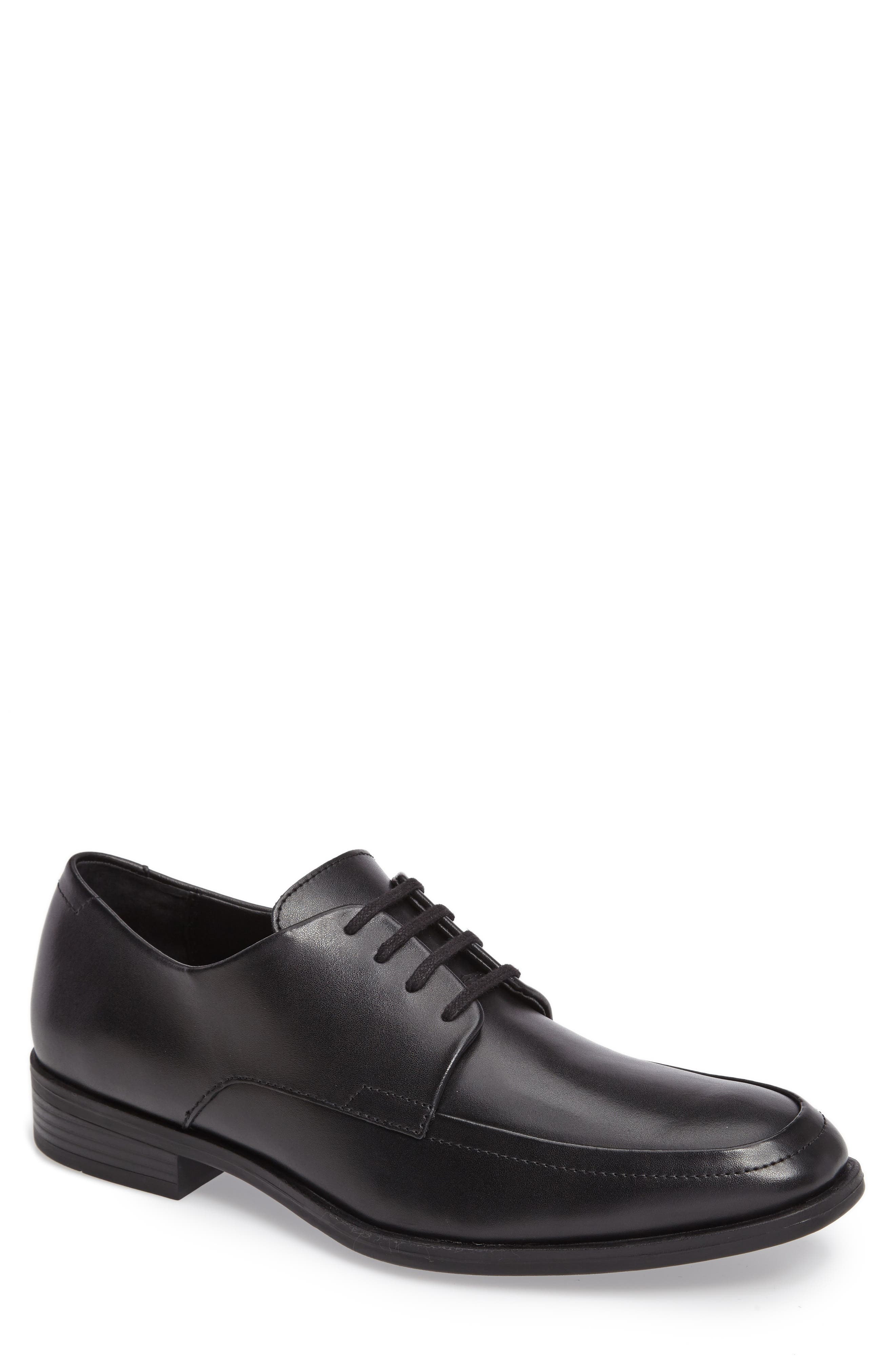 CALVIN KLEIN Draven Moc Toe Casual Lace-Up