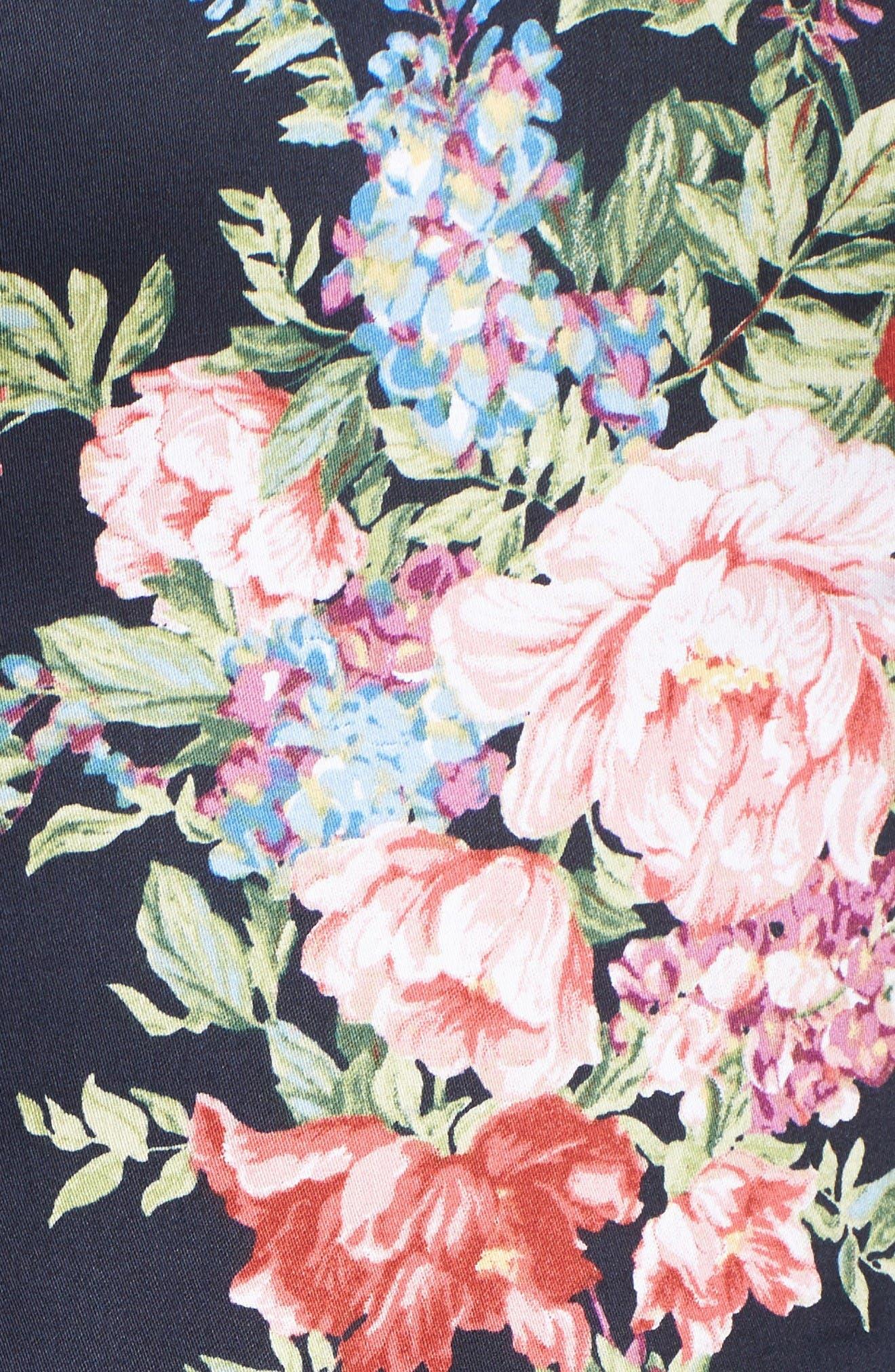 Alternate Image 5  - Chetta B Off the Shoulder Midi Dress