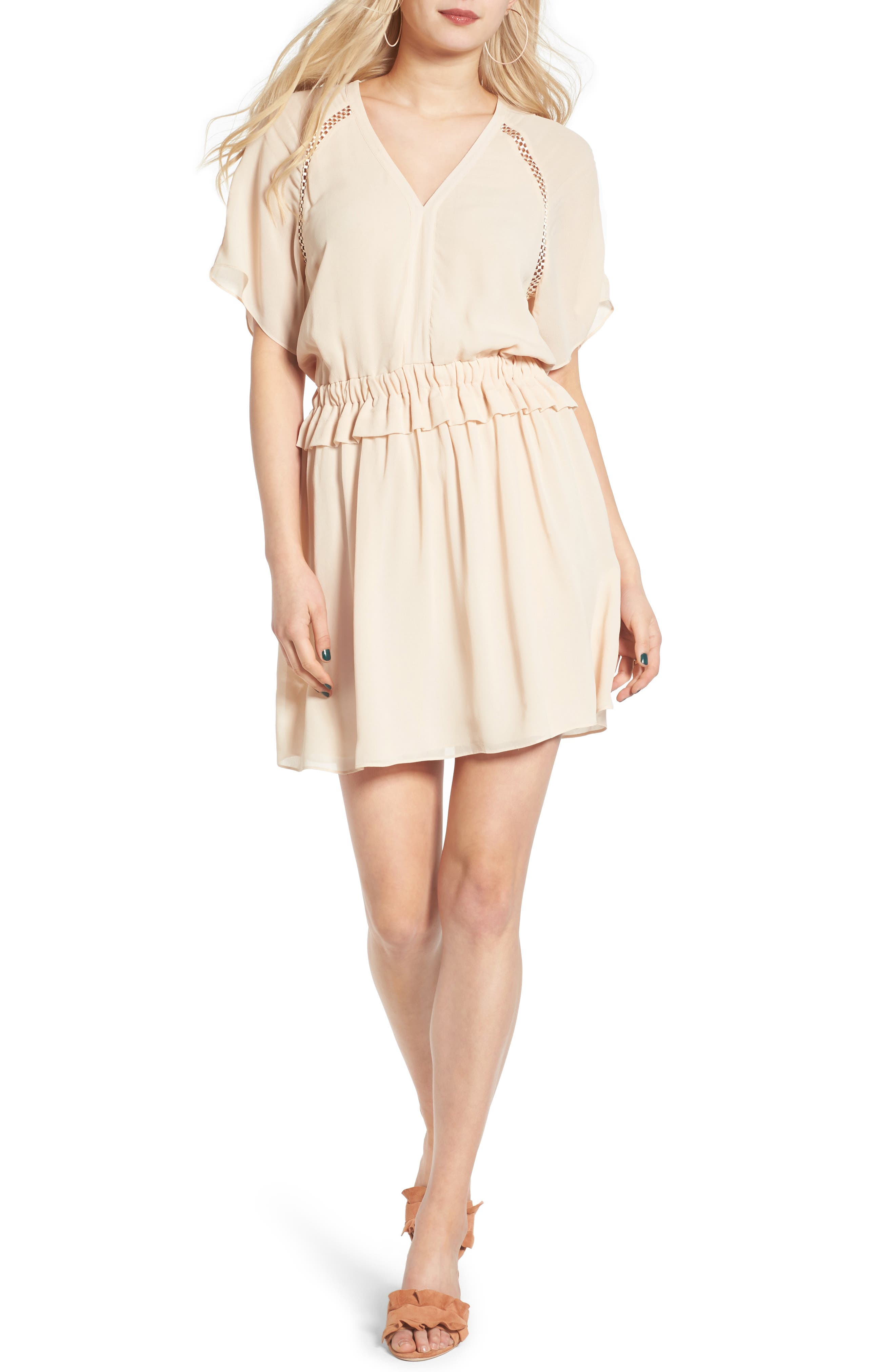 ST. studio Short Sleeve Shift Dress