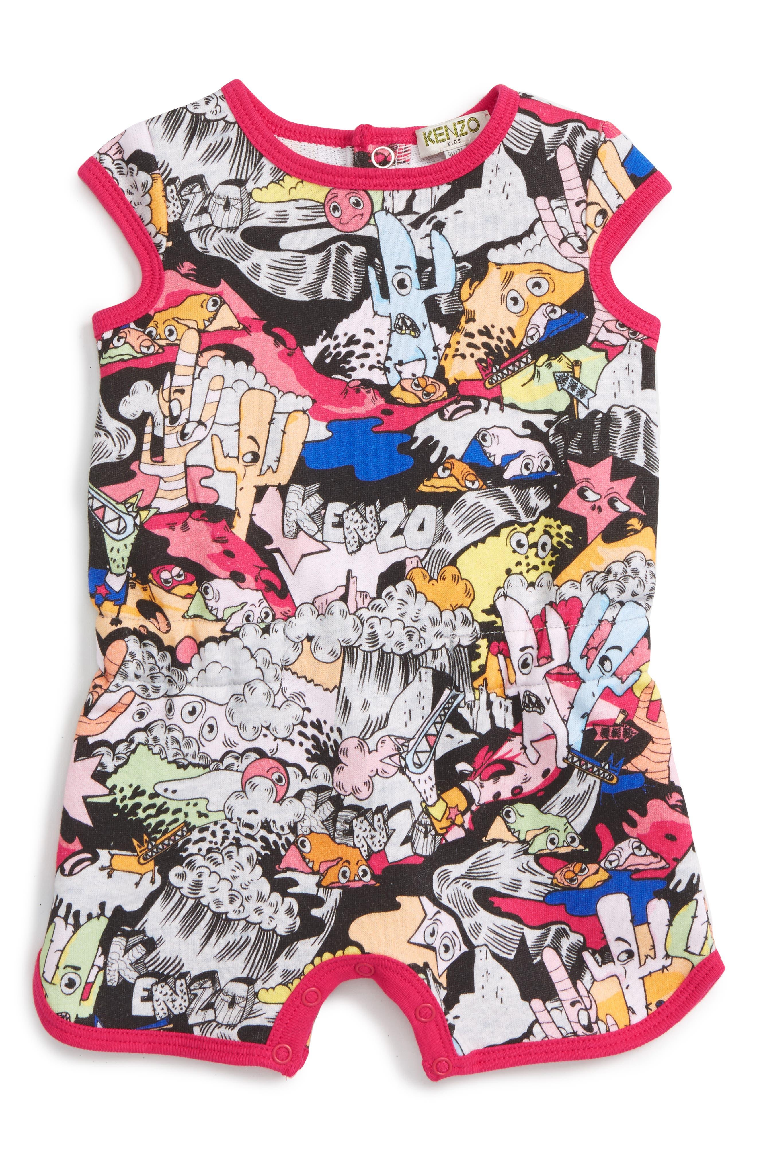 KENZO Print Bodysuit (Baby Girls)