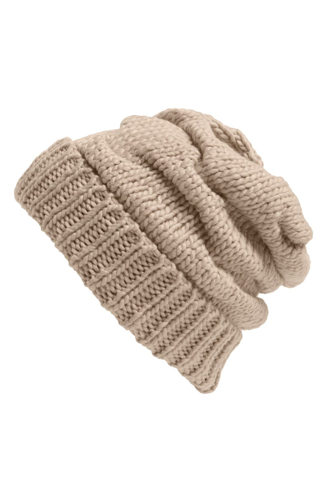 Alternate Image 1 Selected - Leith Knit Slouch Beanie