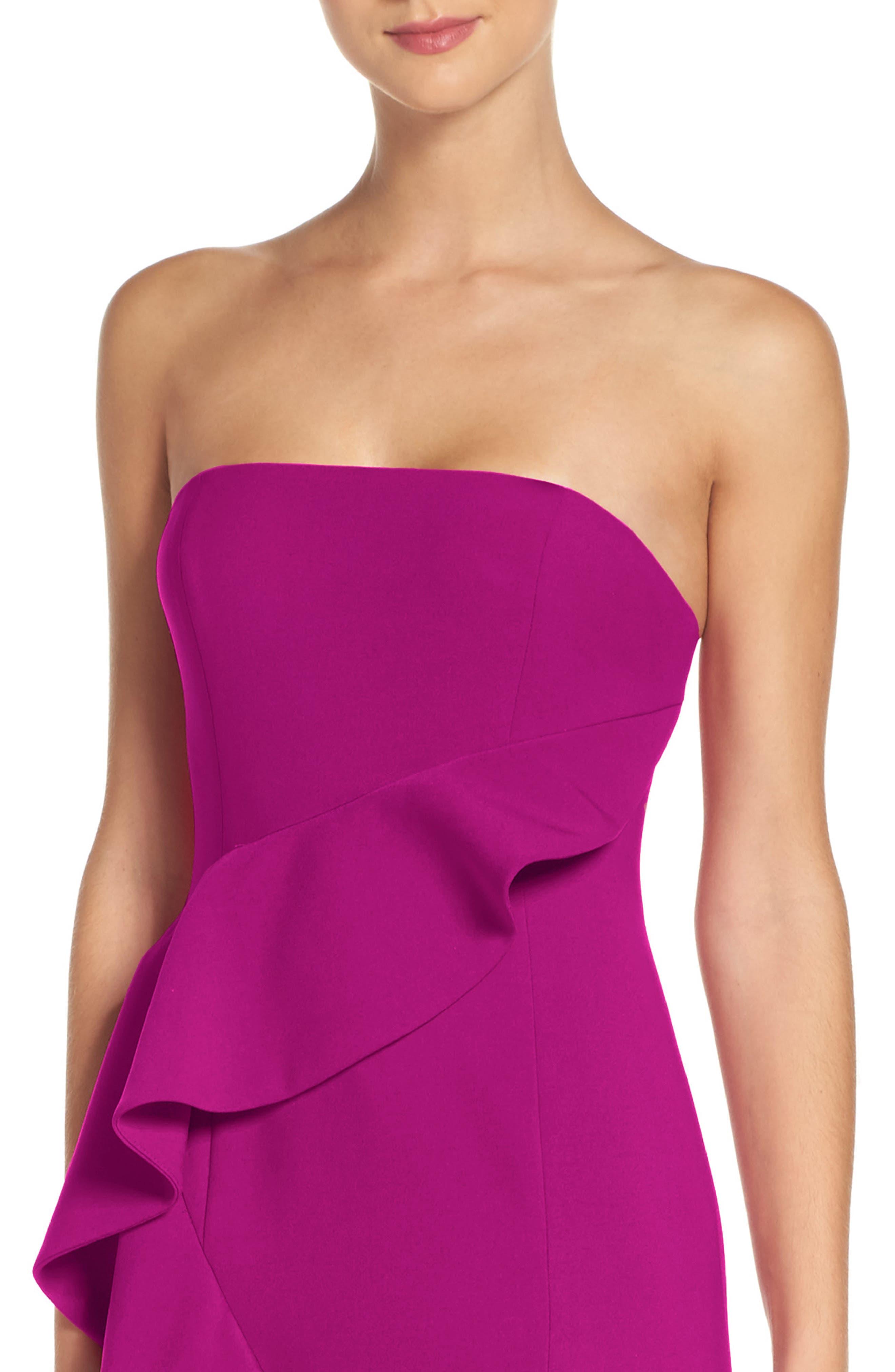 Alternate Image 4  - Jay Godfrey Torres Strapless Gown
