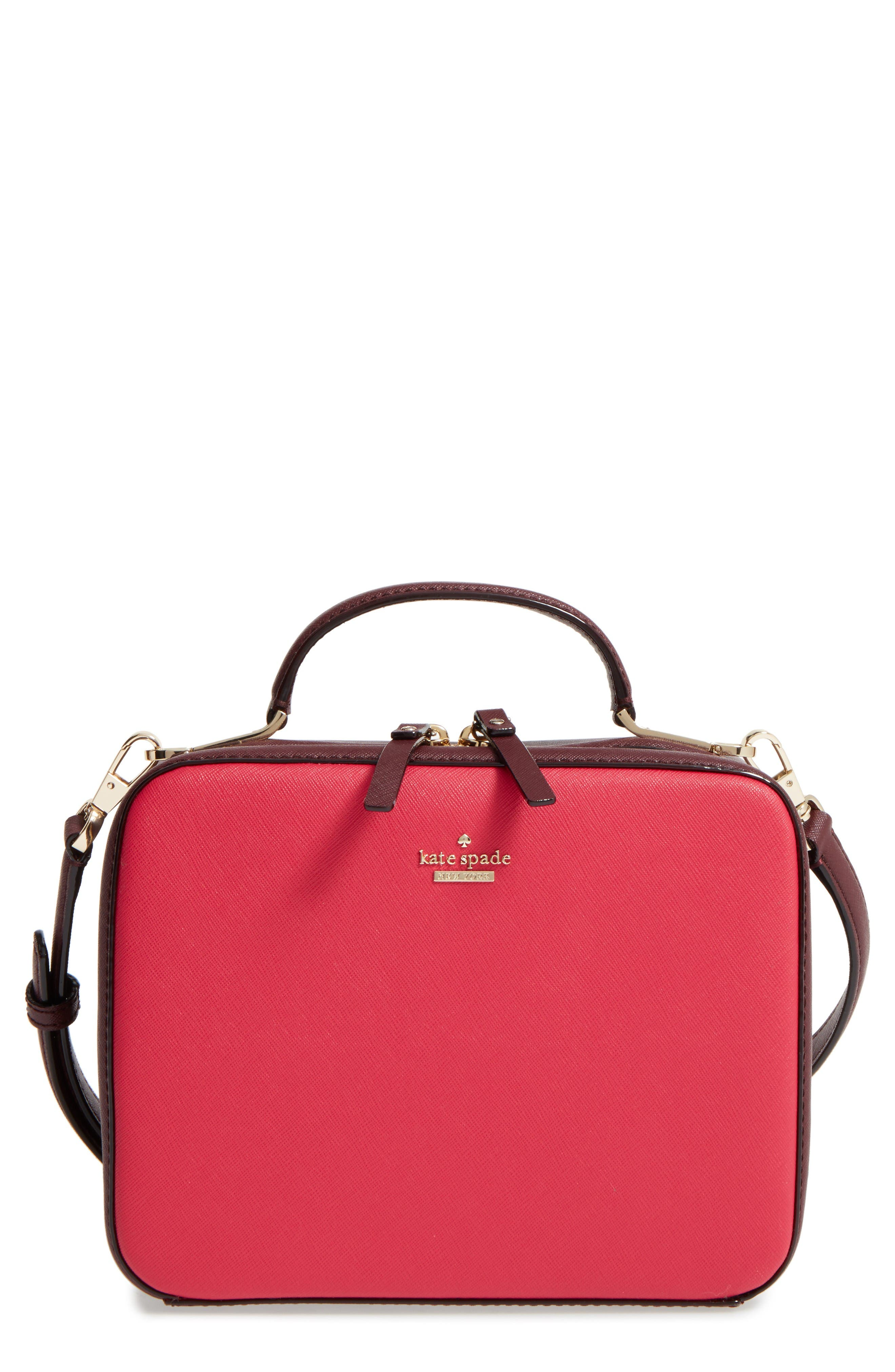 Alternate Image 1 Selected - kate spade new york cameron street - casie leather top handle satchel