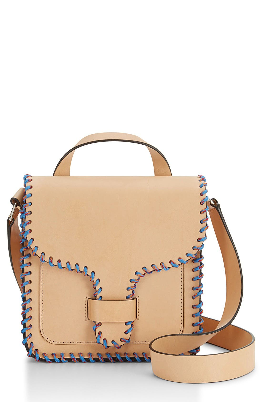 Alternate Image 1 Selected - Rebecca Minkoff Top Handle Leather Feed Bag