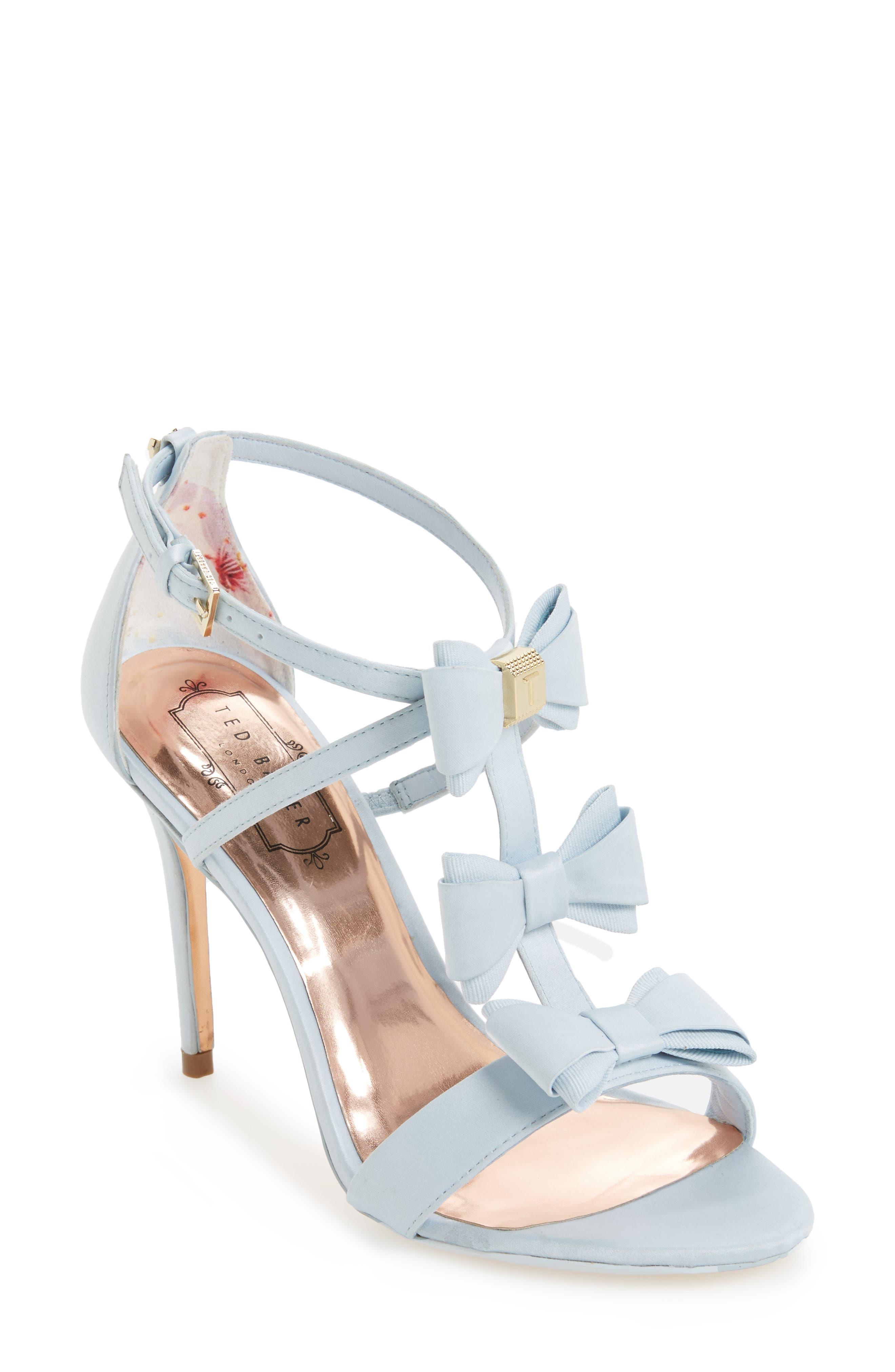 Alternate Image 1 Selected - Ted Baker Appolini Bow Sandal (Women)