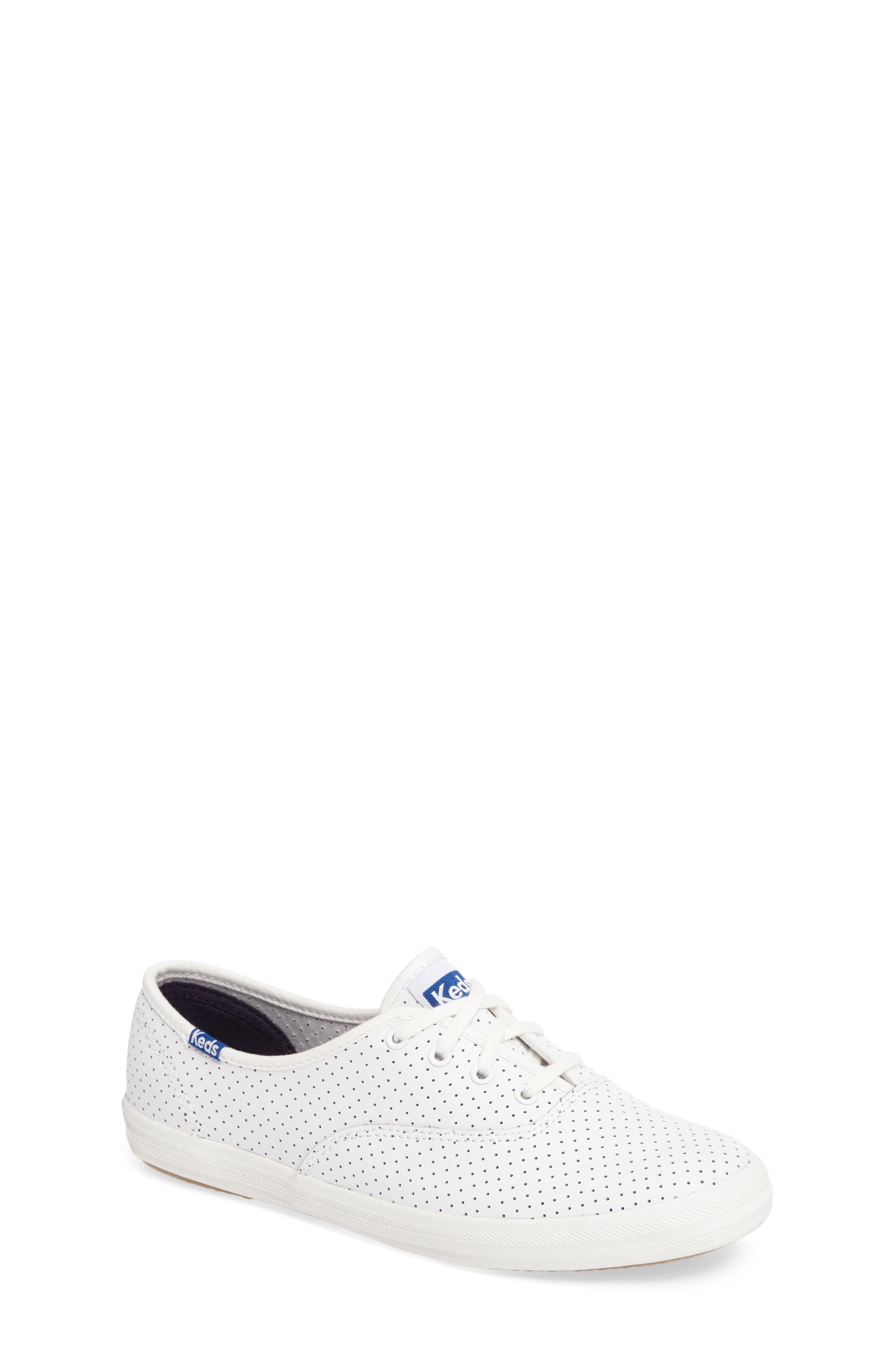 Alternate Image 1 Selected - Keds® Champion Perforated Sneaker (Women)