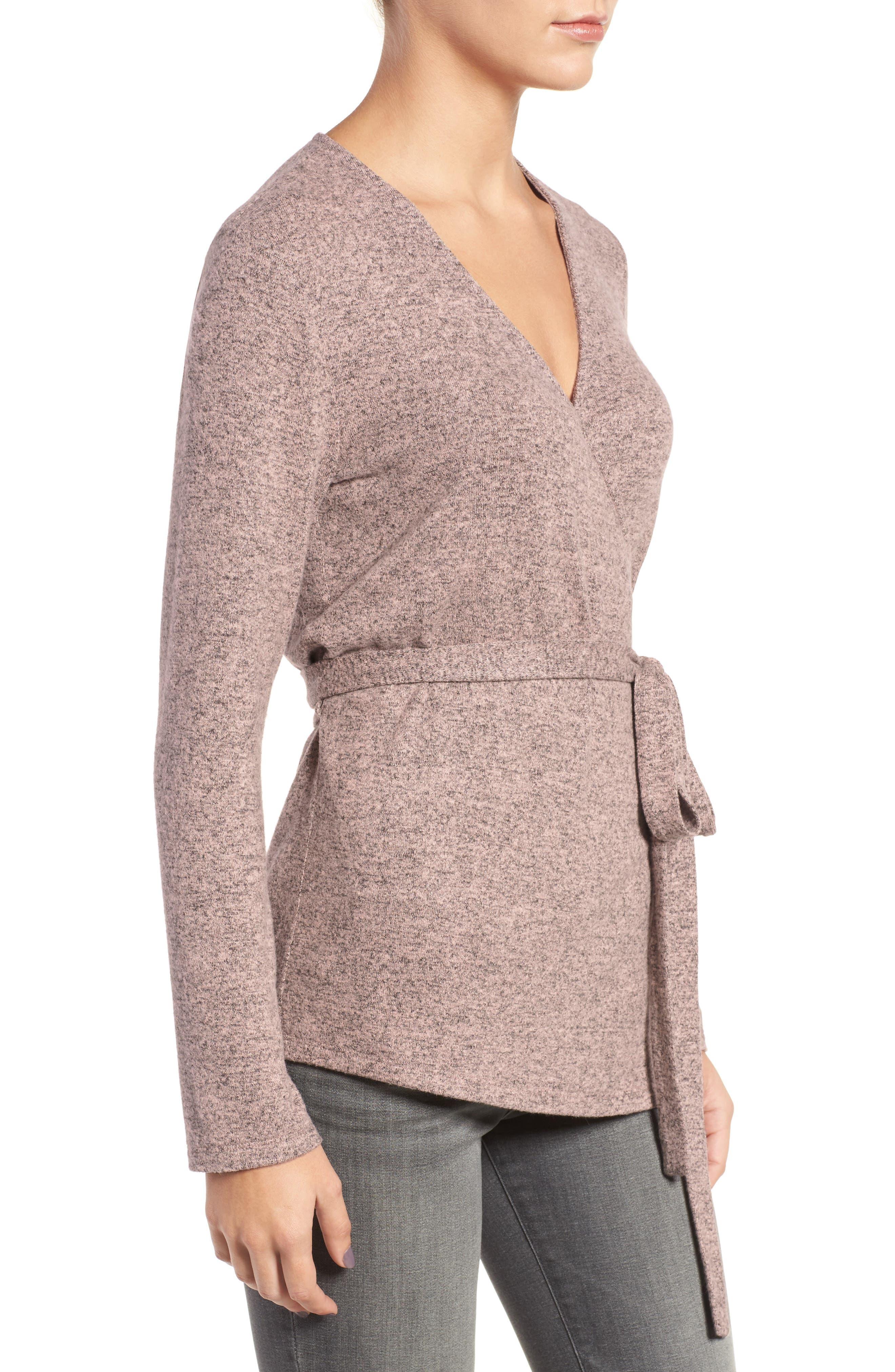 Alternate Image 3  - Trouvé Wrap Sweater
