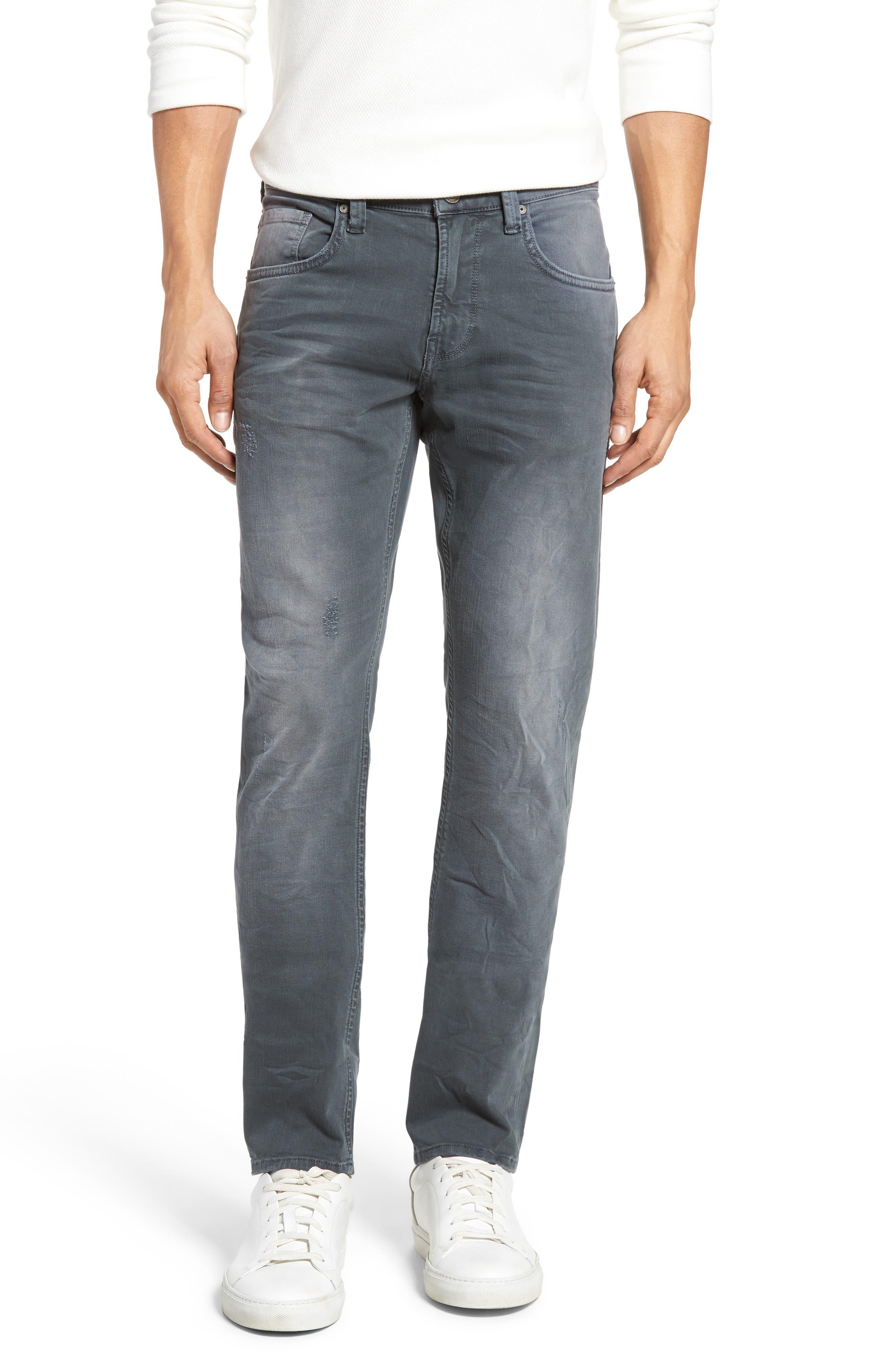 Mavi Jeans Jake Slim Fit Jeans (Green Grey)