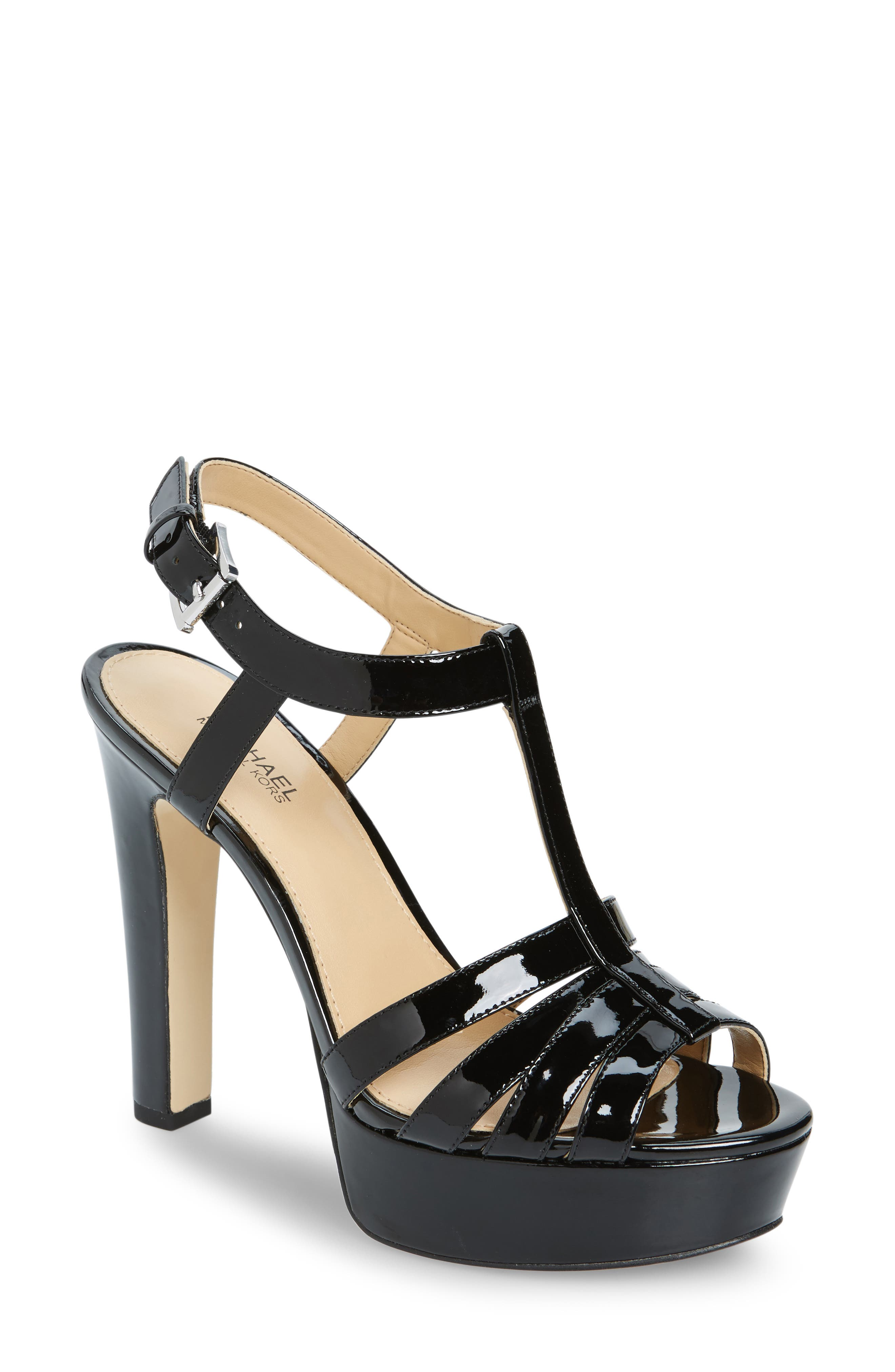 Alternate Image 1 Selected - MICHAEL Michael Kors Catalina Platform Sandal (Women)