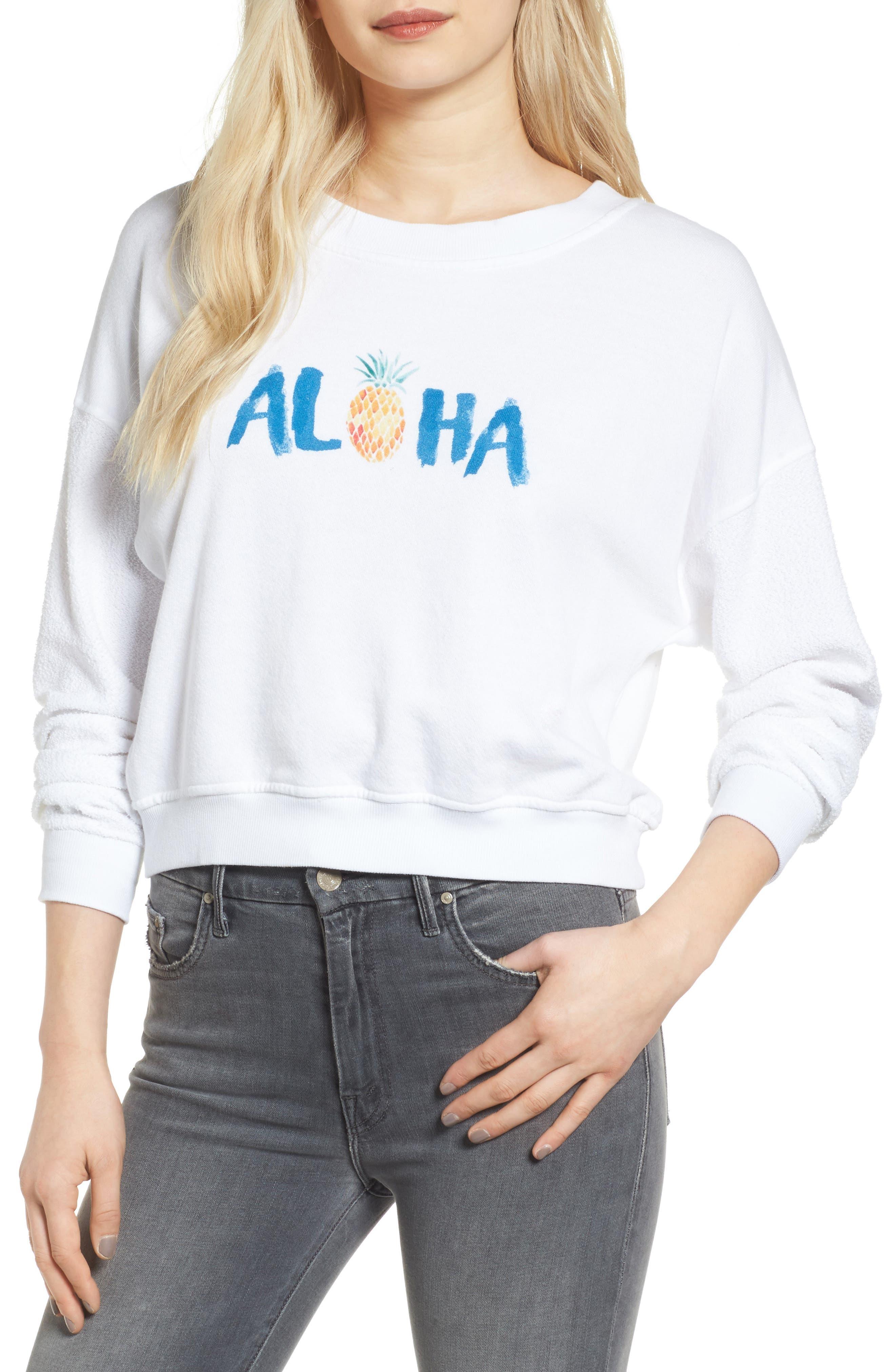 Rails Kelli Crop Sweatshirt