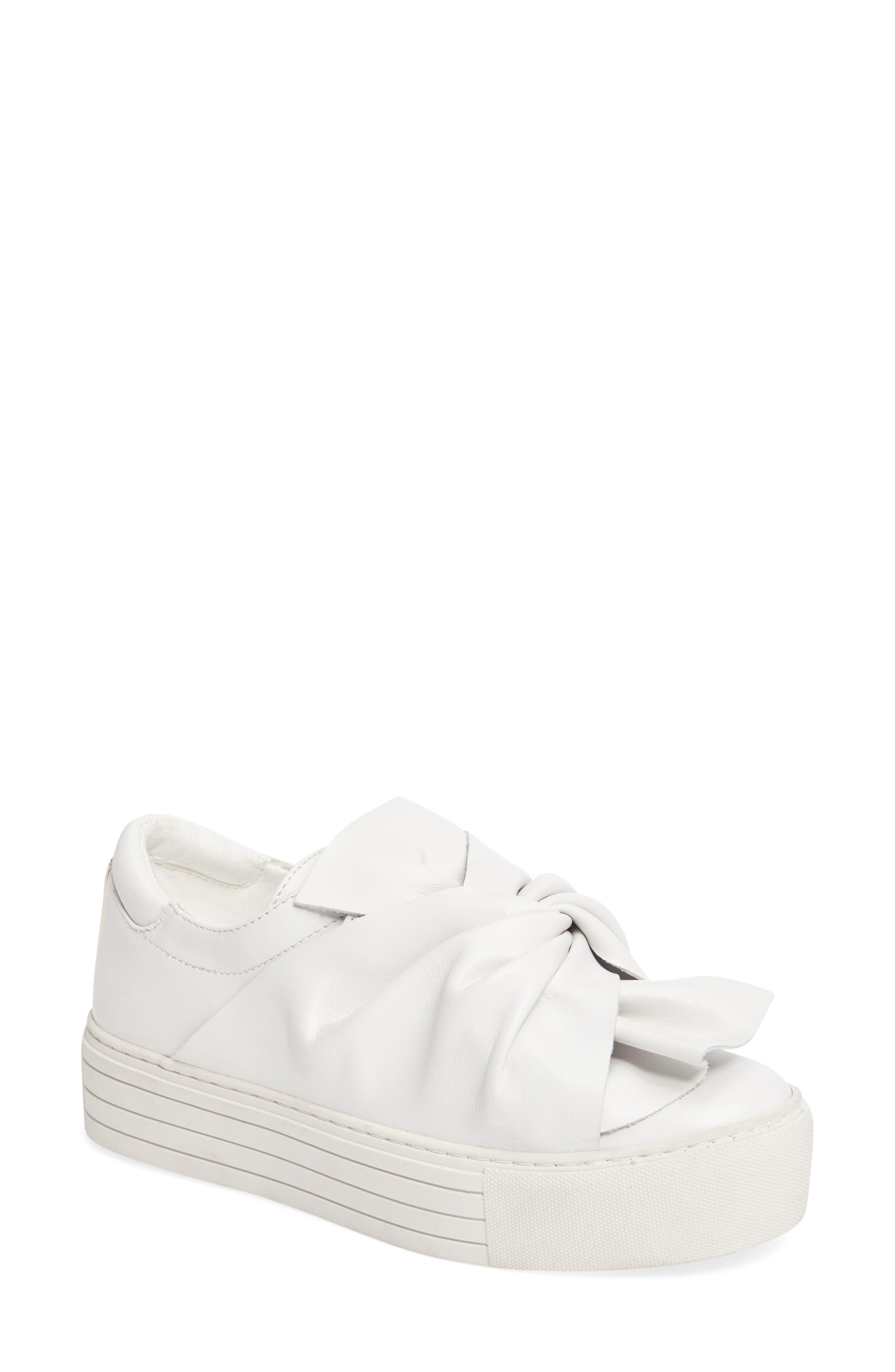 Kenneth Cole Aaron Twisted Knot Flatform Sneaker (Women)