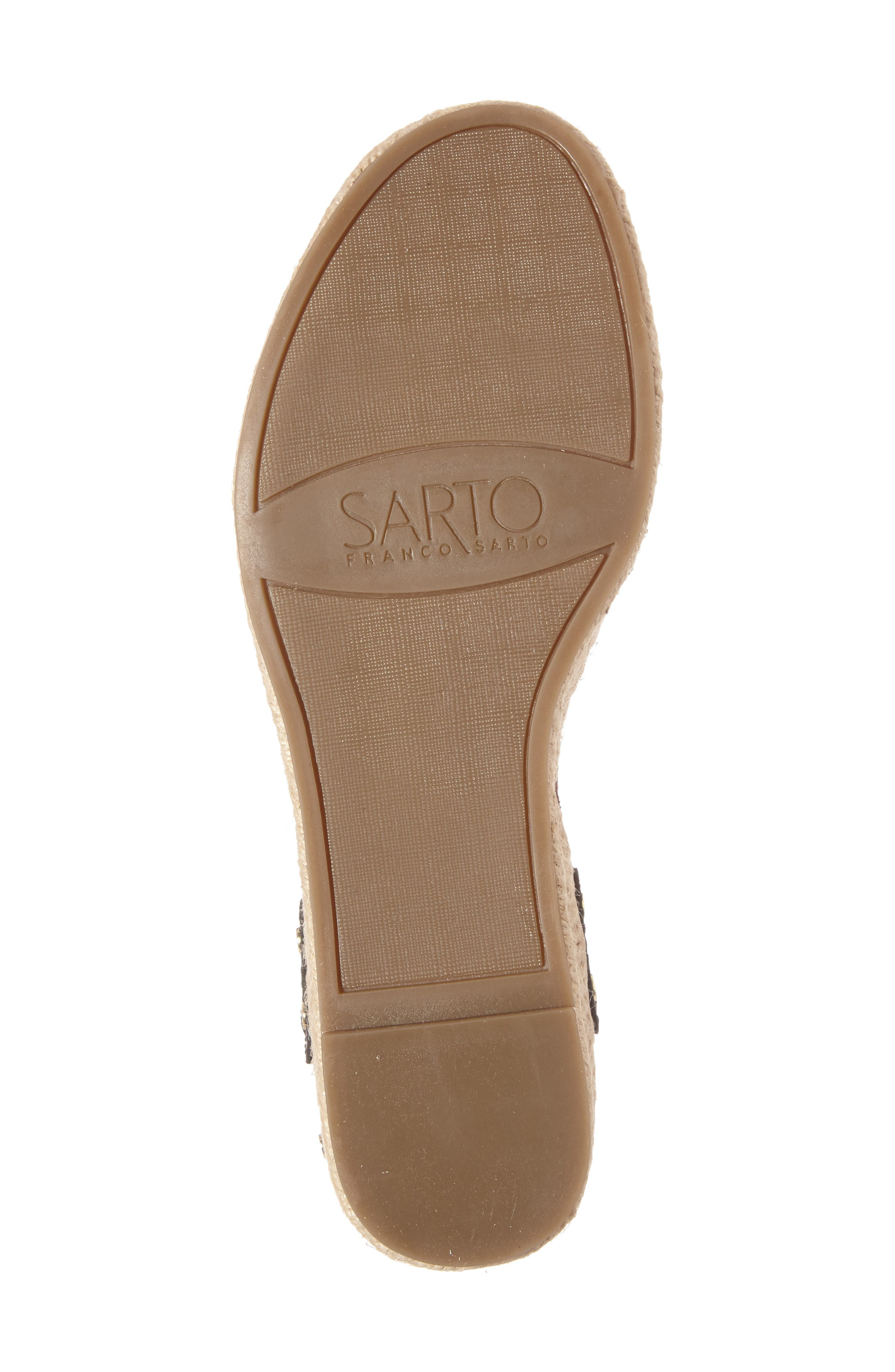 Alternate Image 4  - SARTO by Franco Sarto Oak Platform Wedge Espadrille (Women)