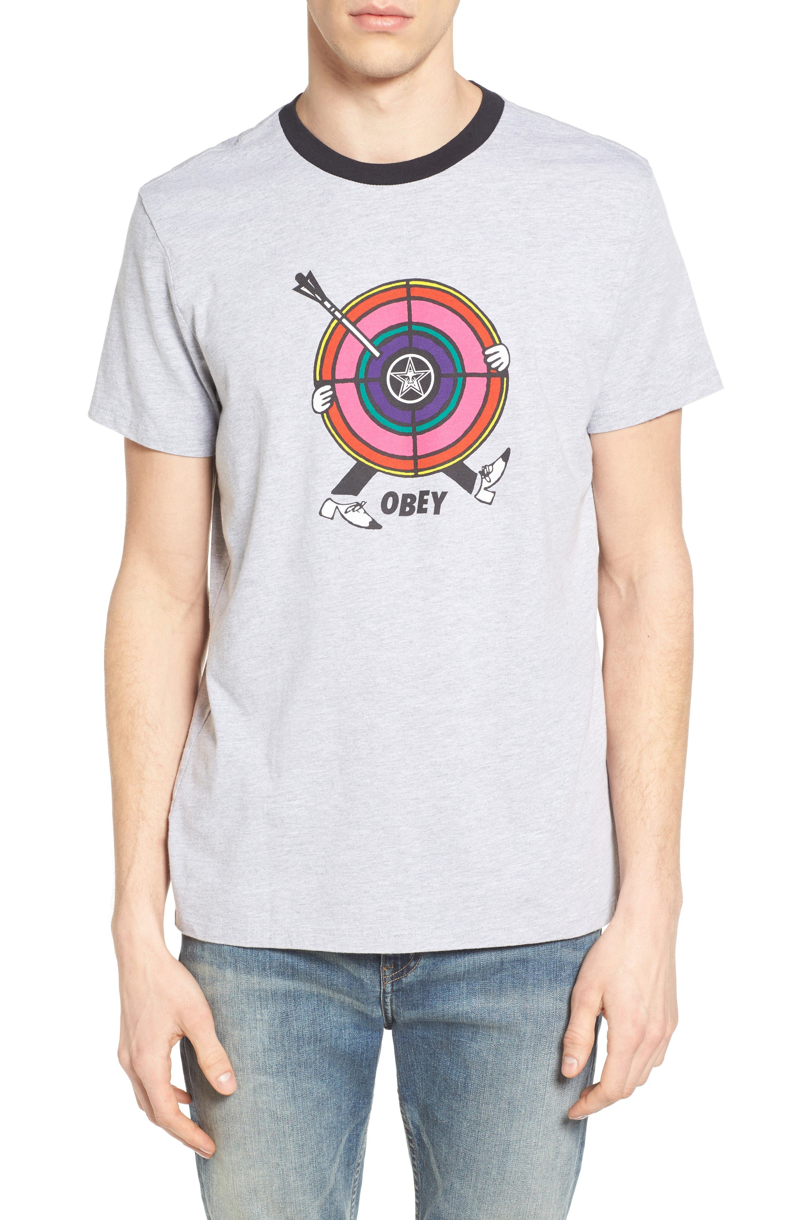 Obey Target Practice Graphic T-Shirt