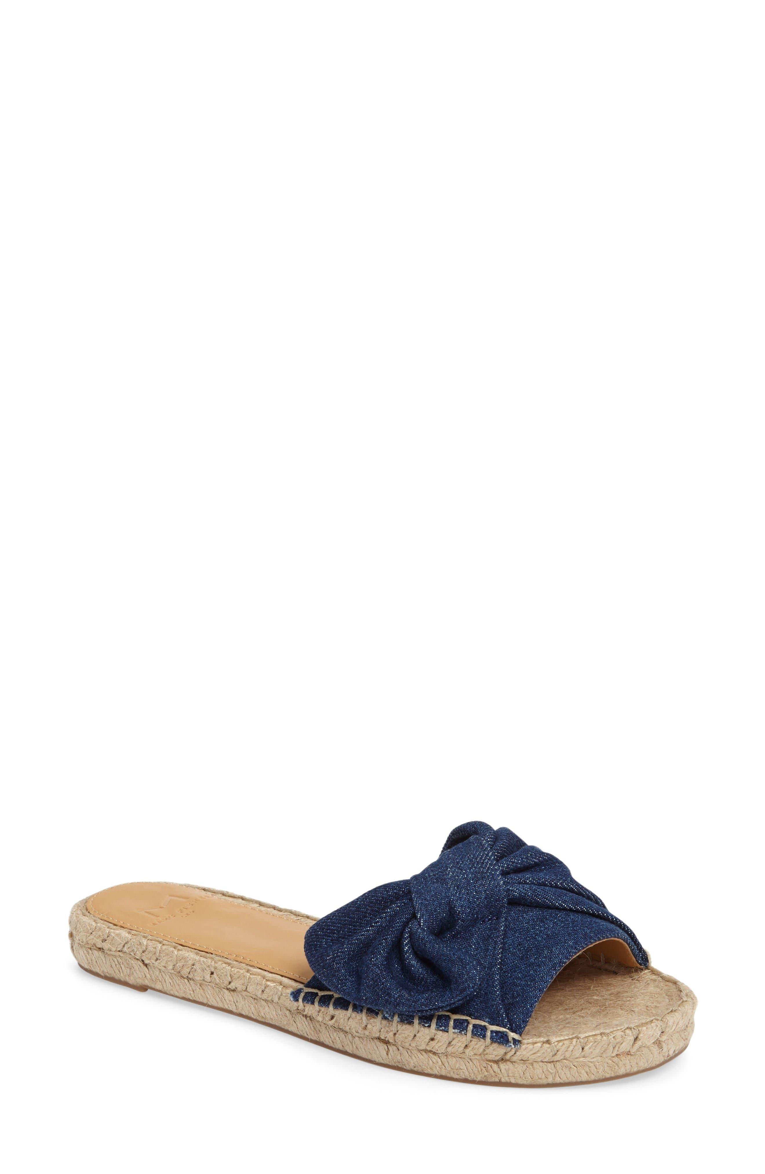 Marc Fisher LTD Valey Espadrille Slide Sandal (Women)