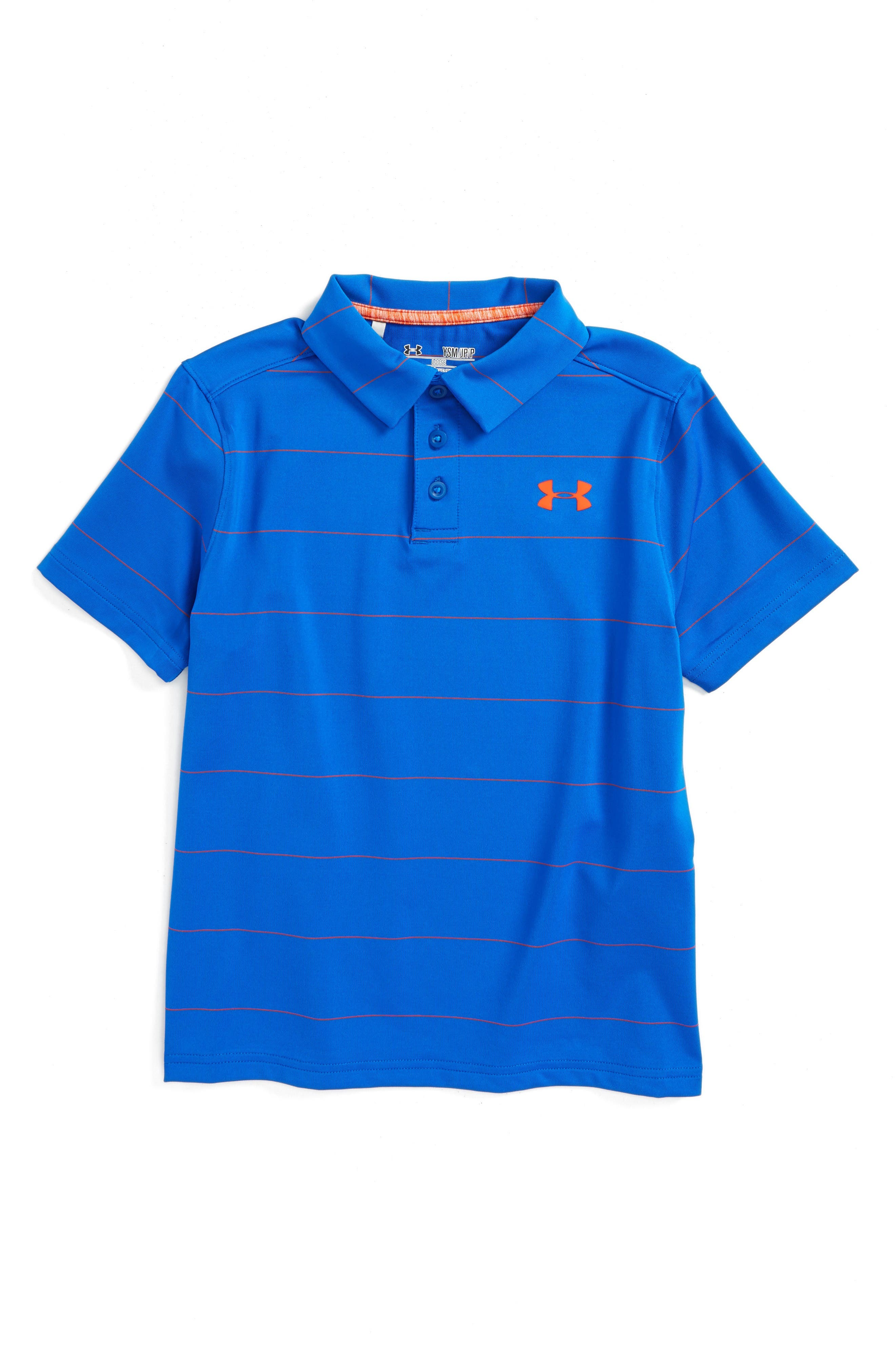 Under Armour Playoff Stripe Polo (Little Boys & Big Boys)