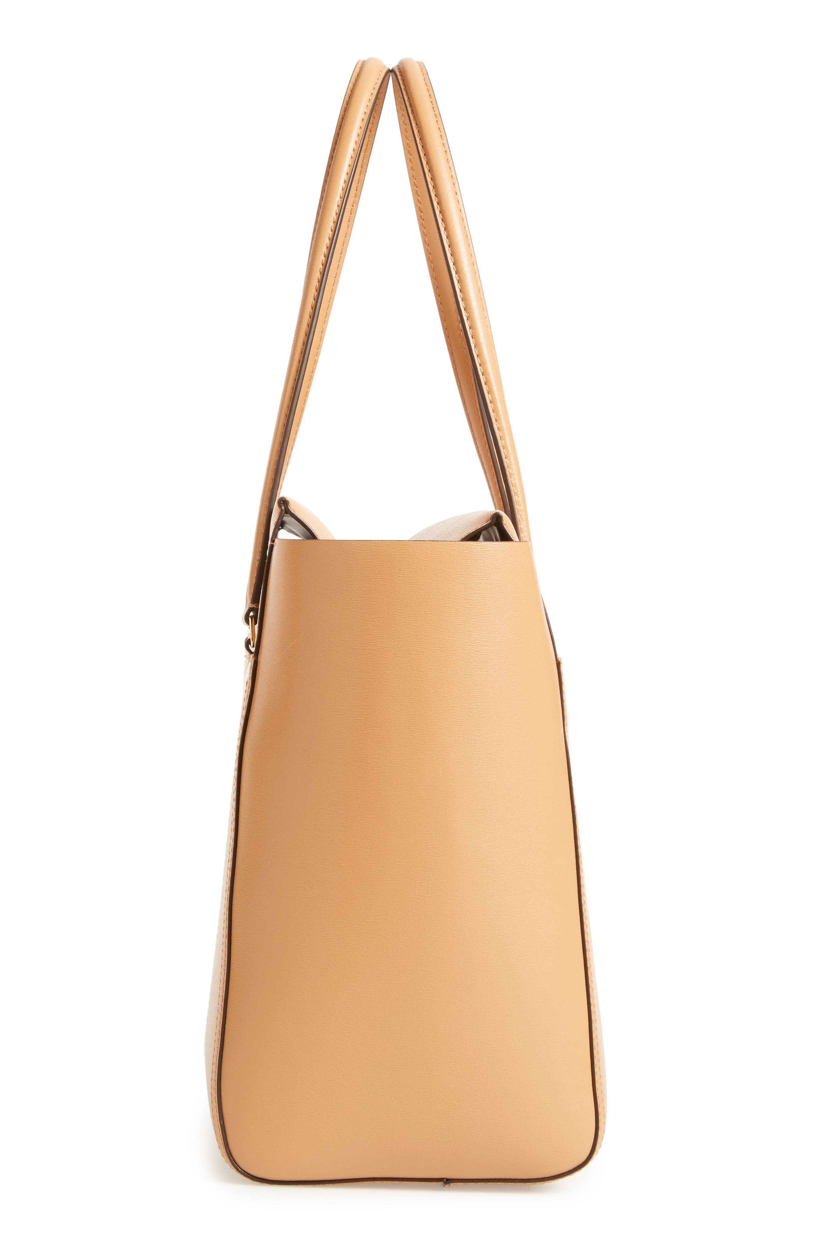 Alternate Image 5  - Tory Burch Parker Leather Tote