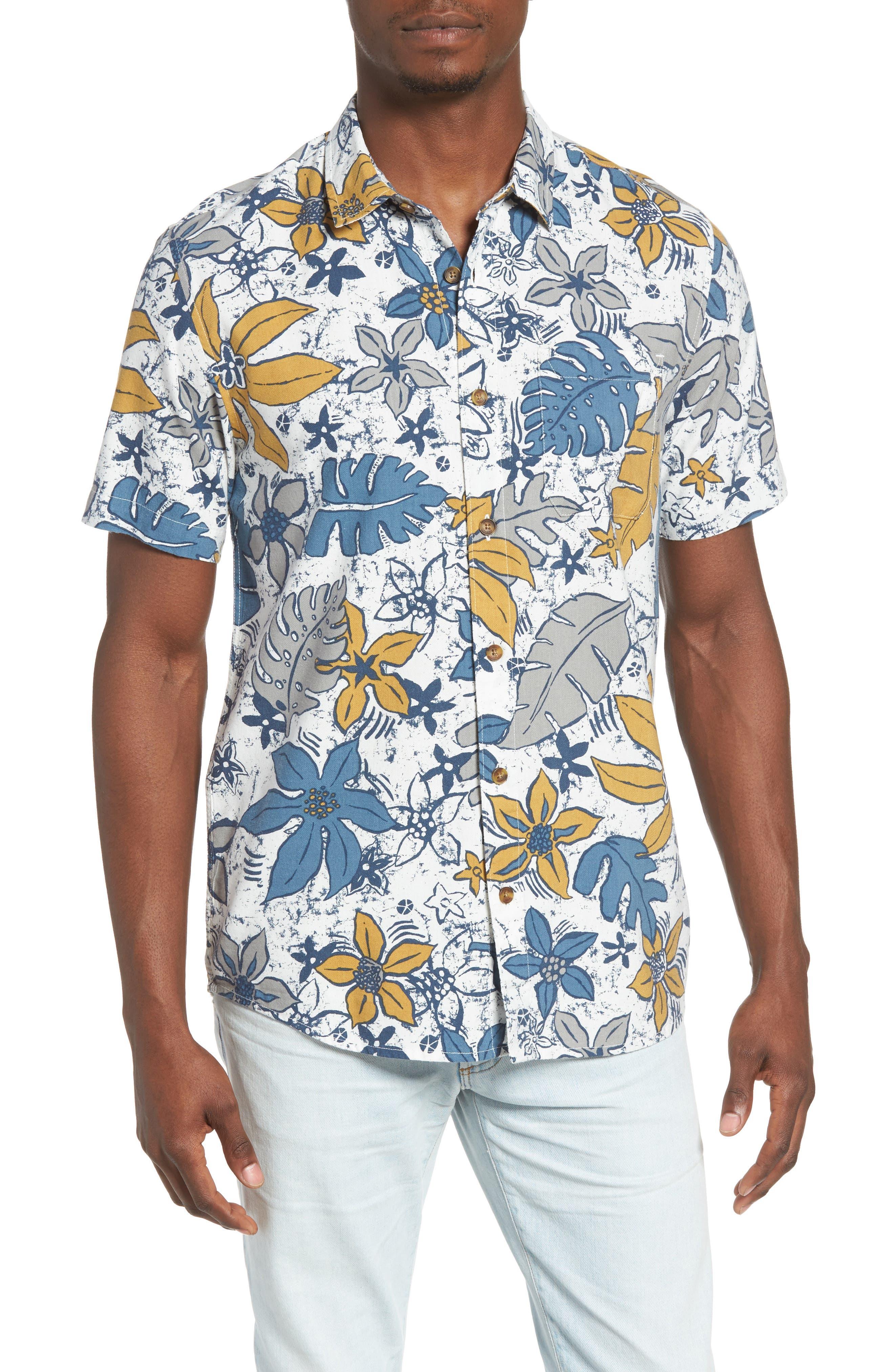 O'Neill Lahaina Tropical Print Woven Shirt