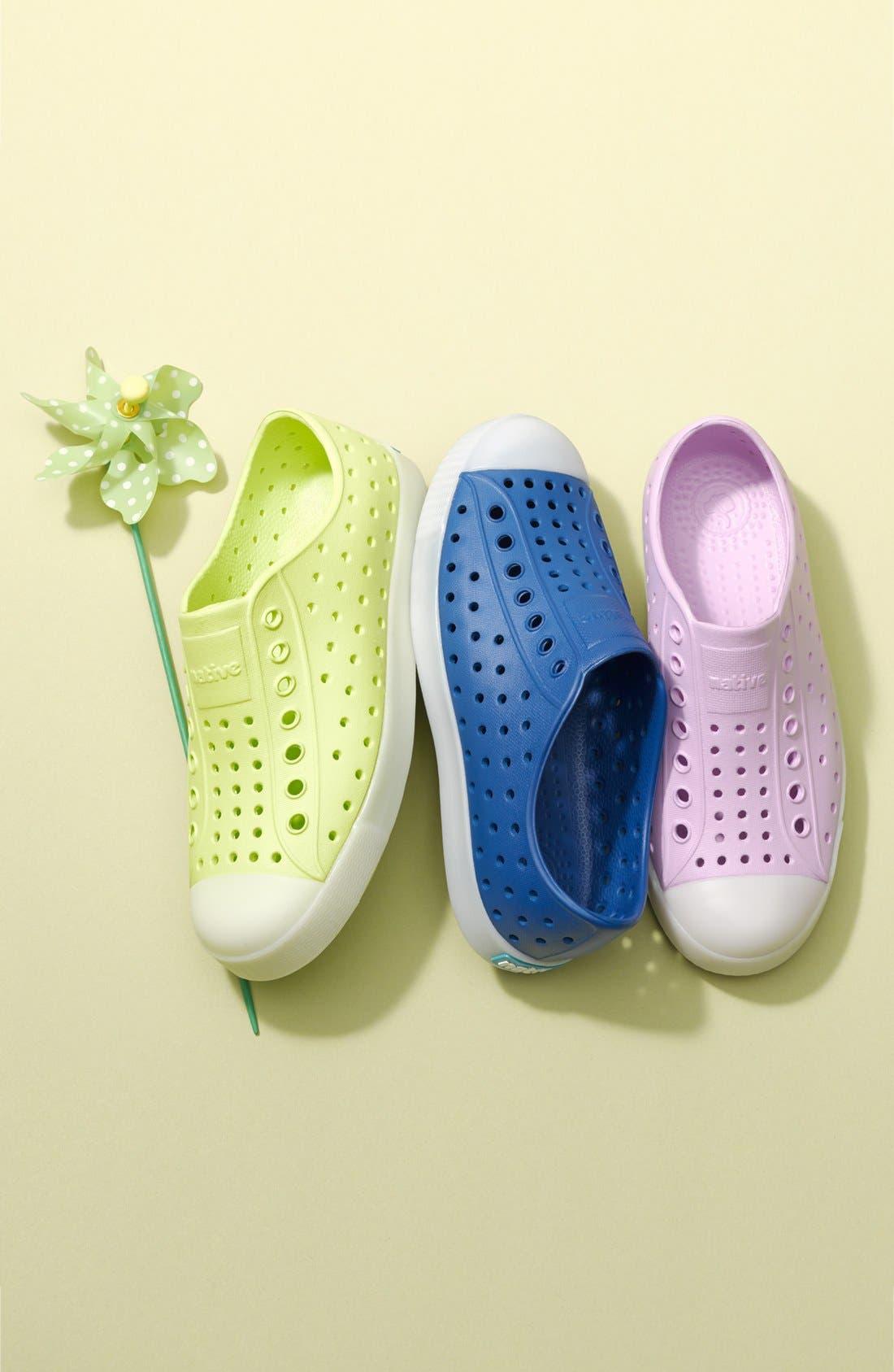 Alternate Image 5  - Native Shoes Jefferson - Glow in the Dark Sneaker (Walker, Toddler & Little Kid)