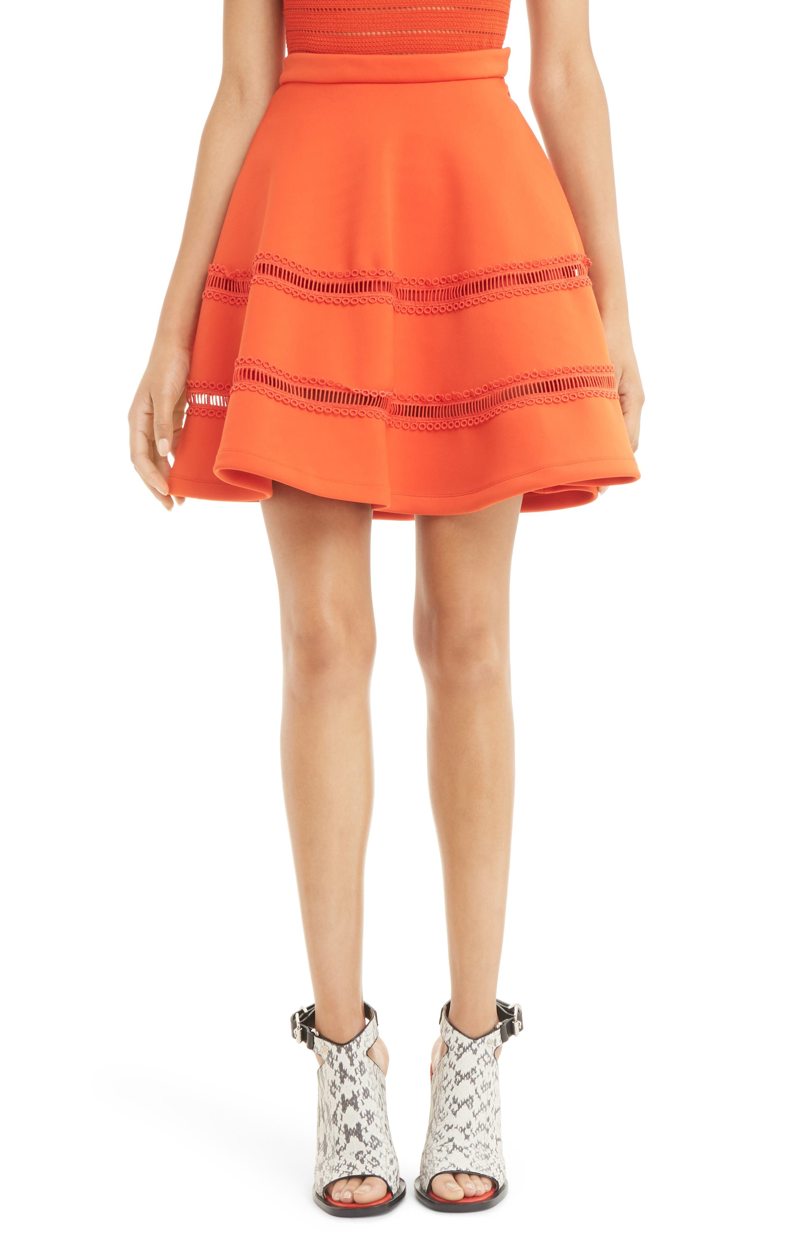 Main Image - Carven A-Line Miniskirt