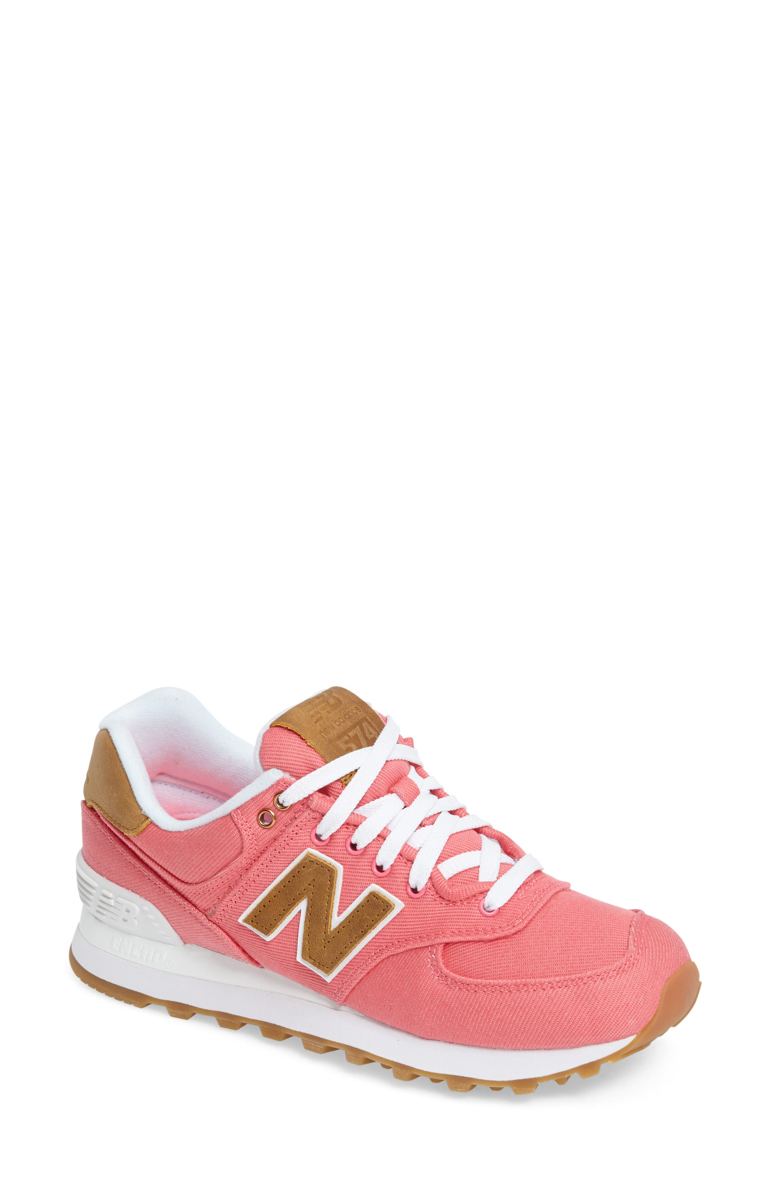 New Balance 574 Canvas Sneaker (Women)
