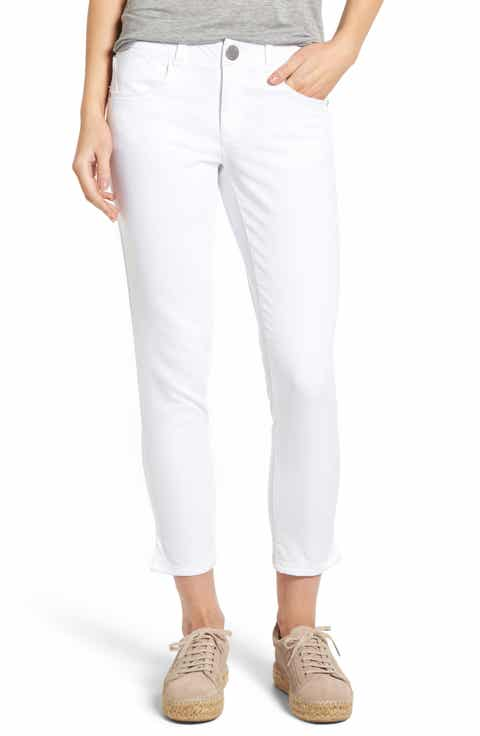 Wit   Wisdom Ab-solution Stretch Twill Skinny Pants (Regular   Petite) (Nordstrom Exclusive)
