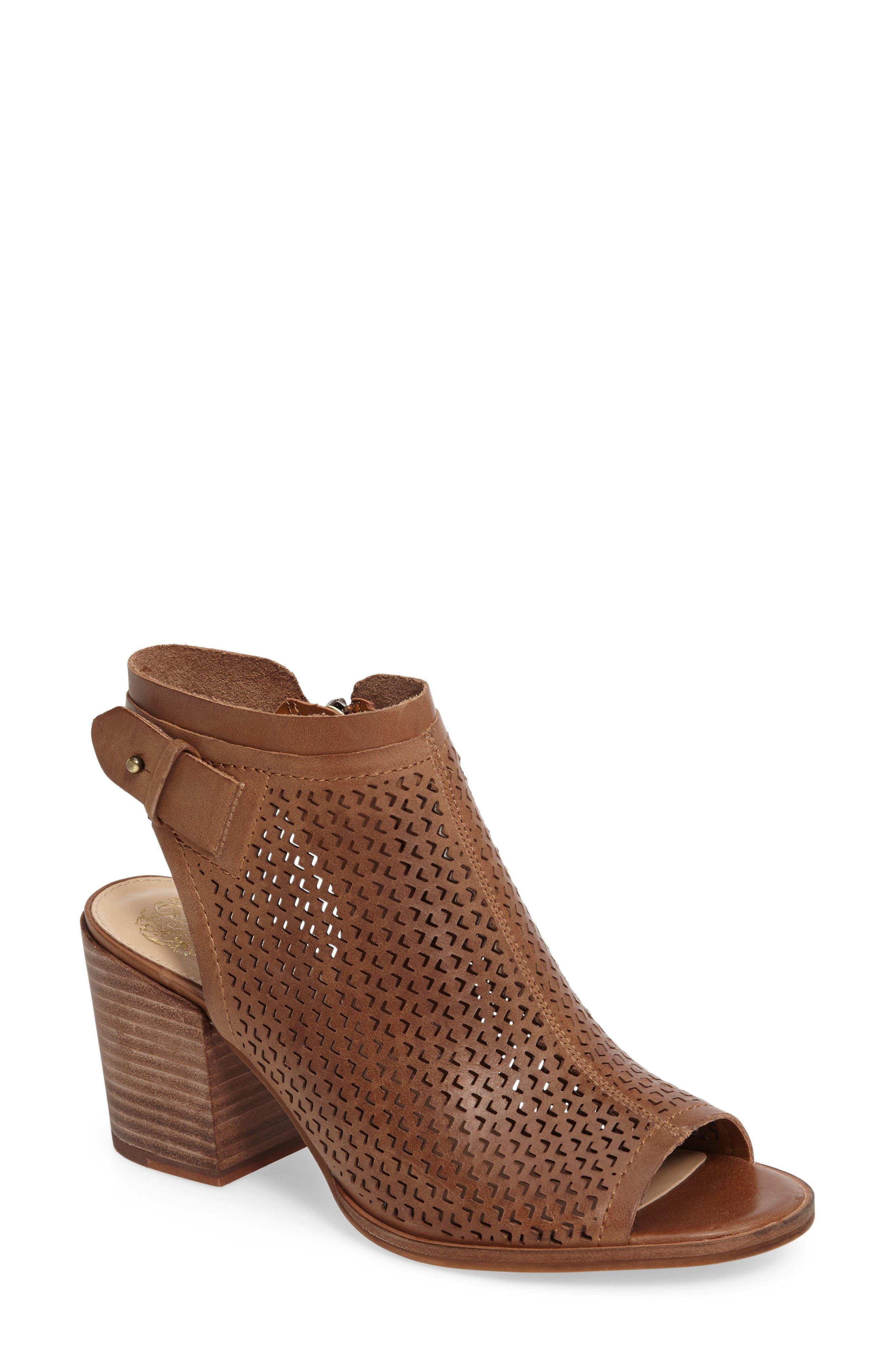 VINCE CAMUTO Lidie Cutout Bootie Sandal