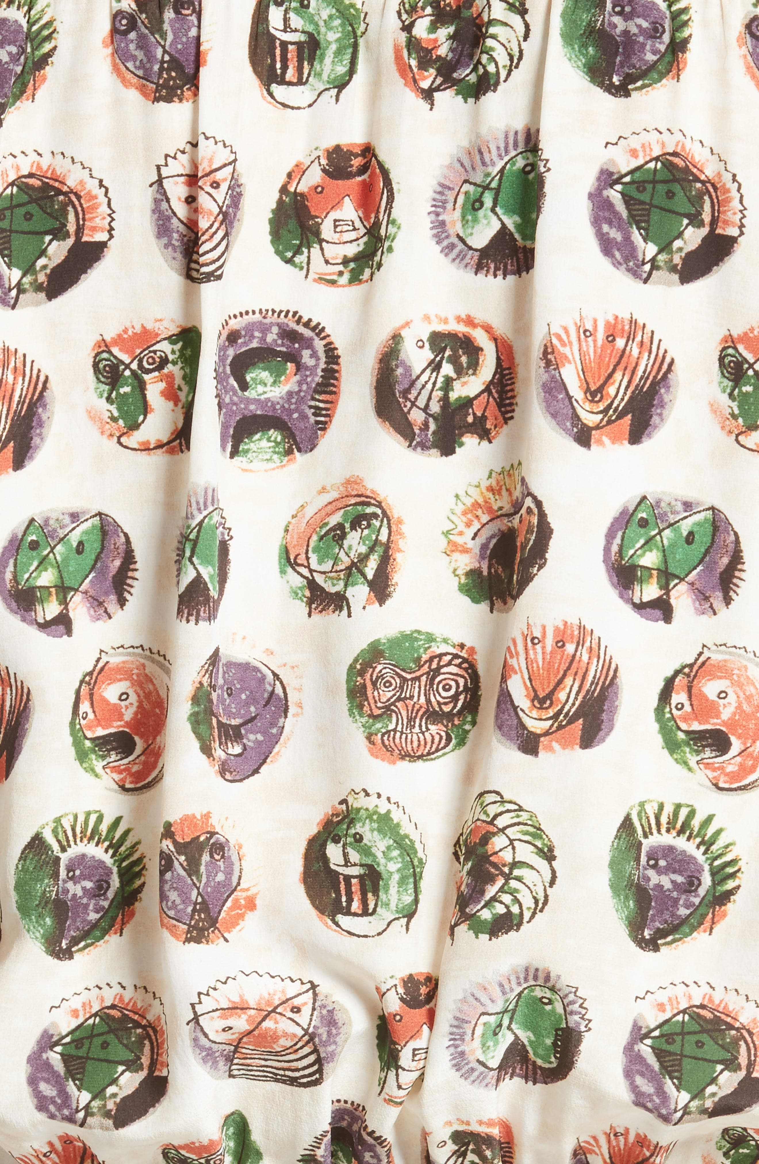 Alternate Image 3  - Burberry Verity Print Mulberry Silk Shirtdress