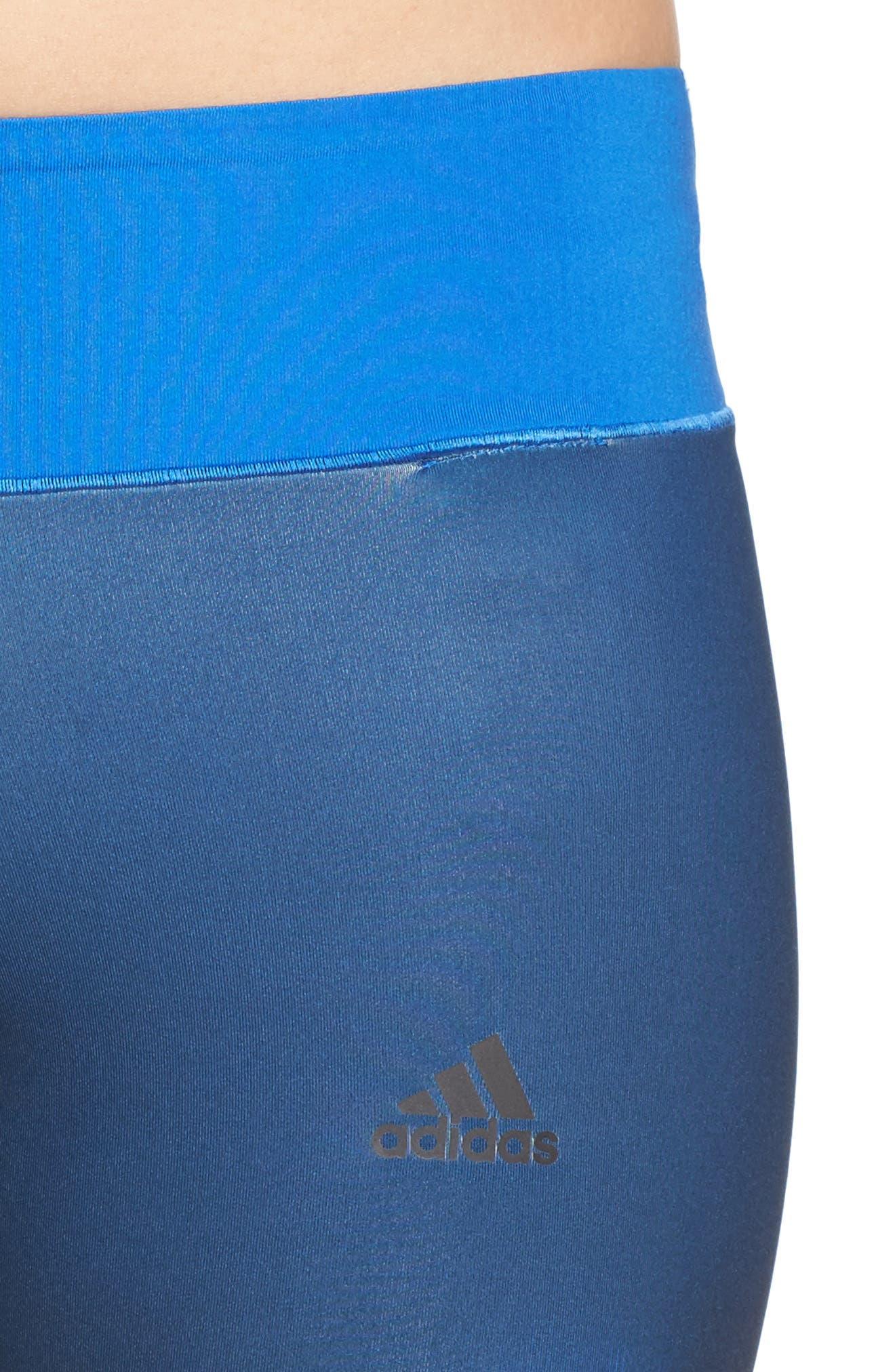 Alternate Image 4  - adidas Wow Drop 2 Tights