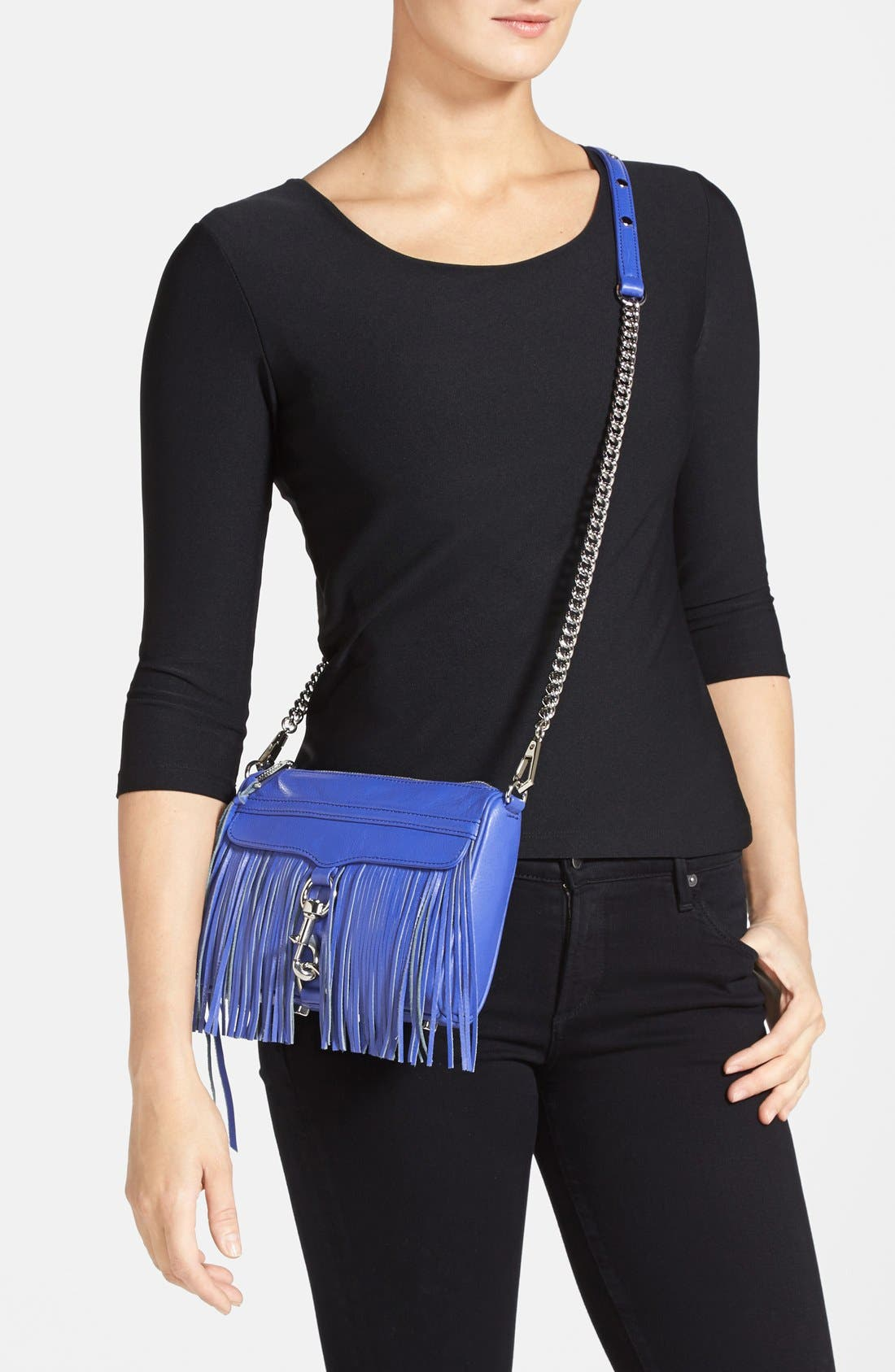 Alternate Image 2  - Rebecca Minkoff 'Fringe Mini MAC' Convertible Crossbody Bag (Nordstrom Exclusive)