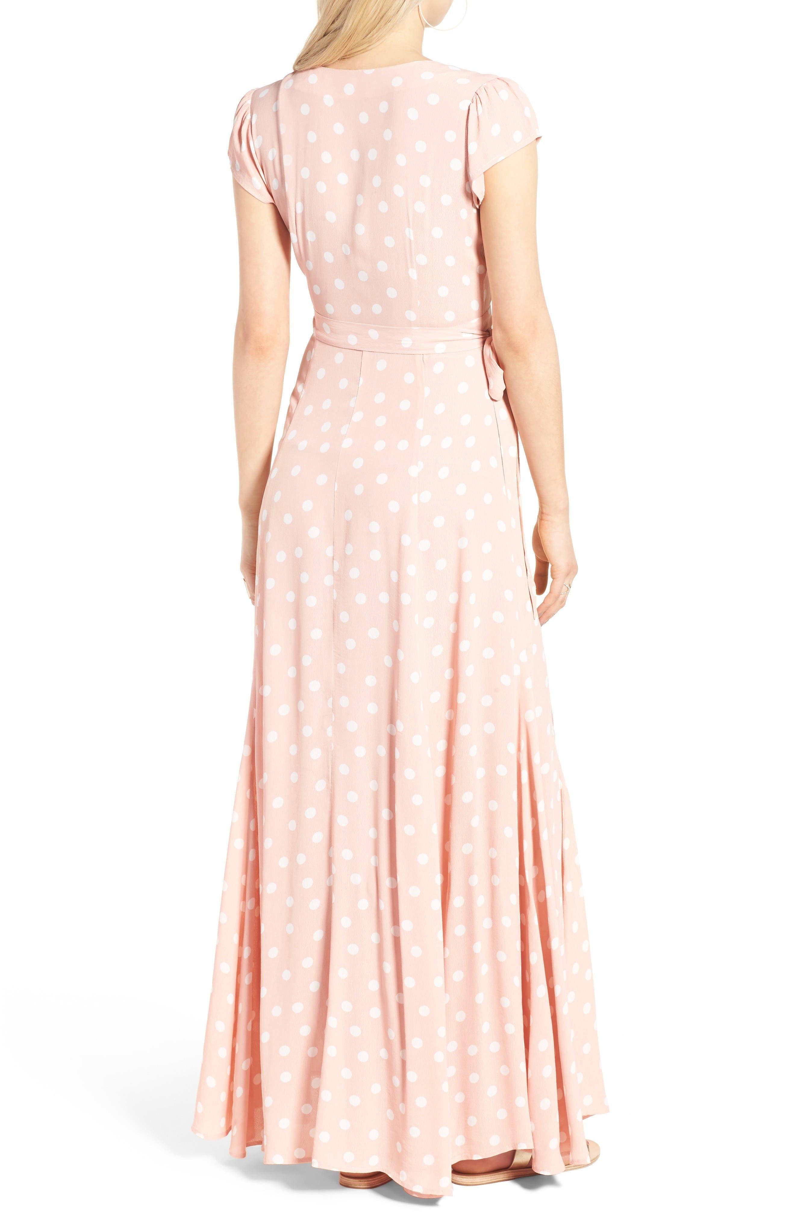 Alternate Image 2  - Tularosa Sid Wrap Maxi Dress (Nordstrom Exclusive)