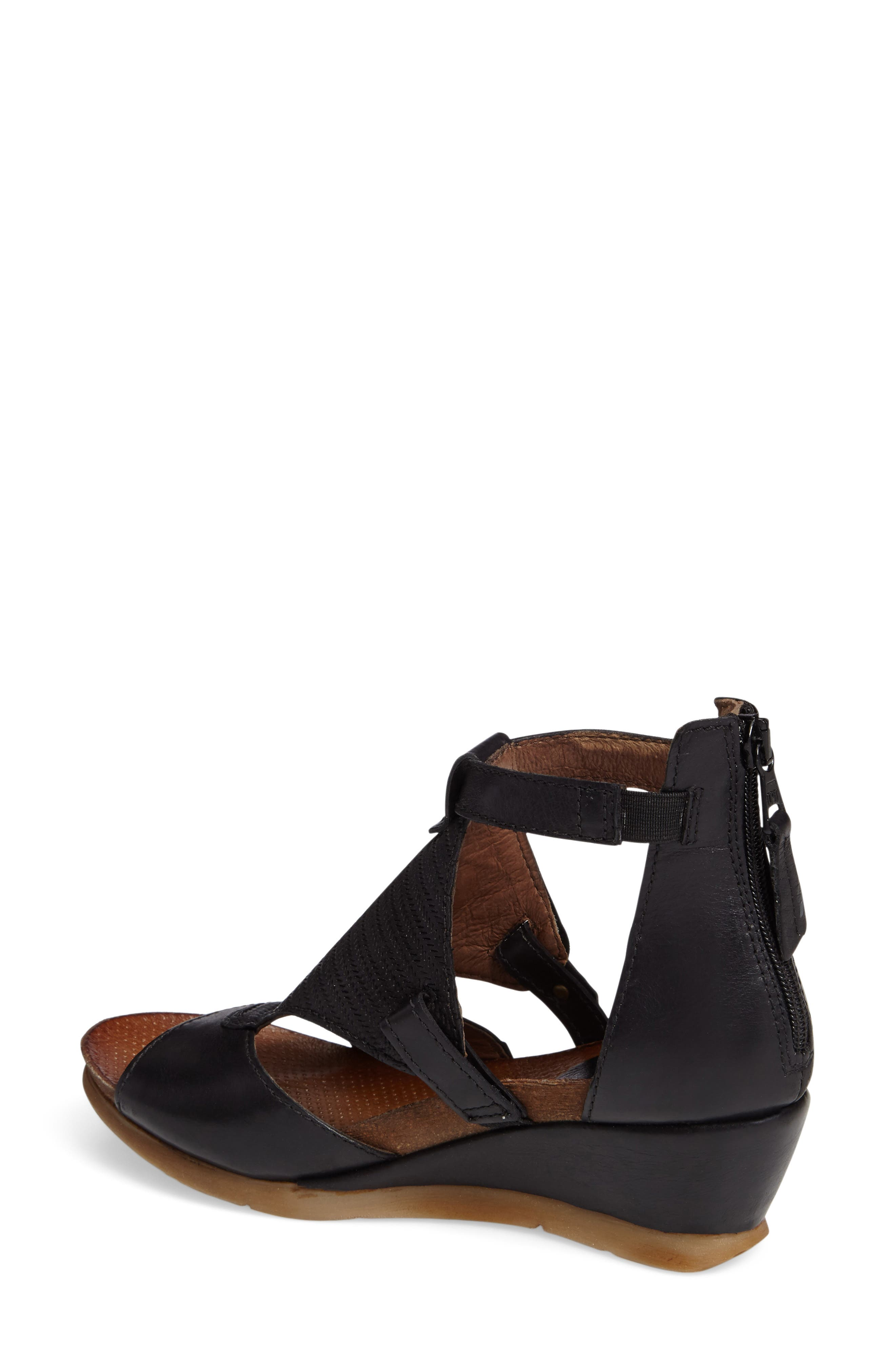 Alternate Image 2  - Miz Mooz Maisie Wedge Sandal (Women)