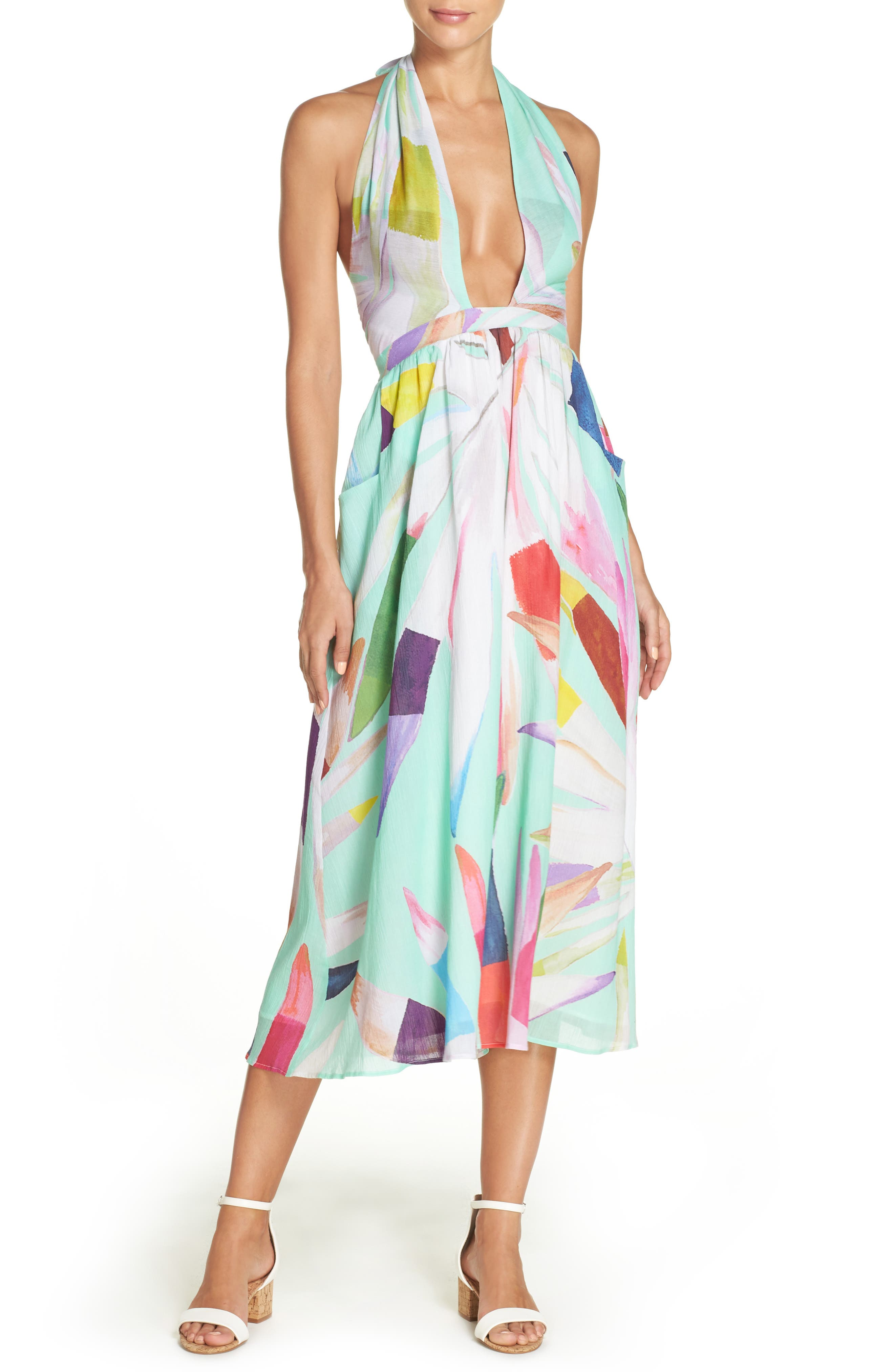 Mara Hoffman Cover-Up Midi Dress