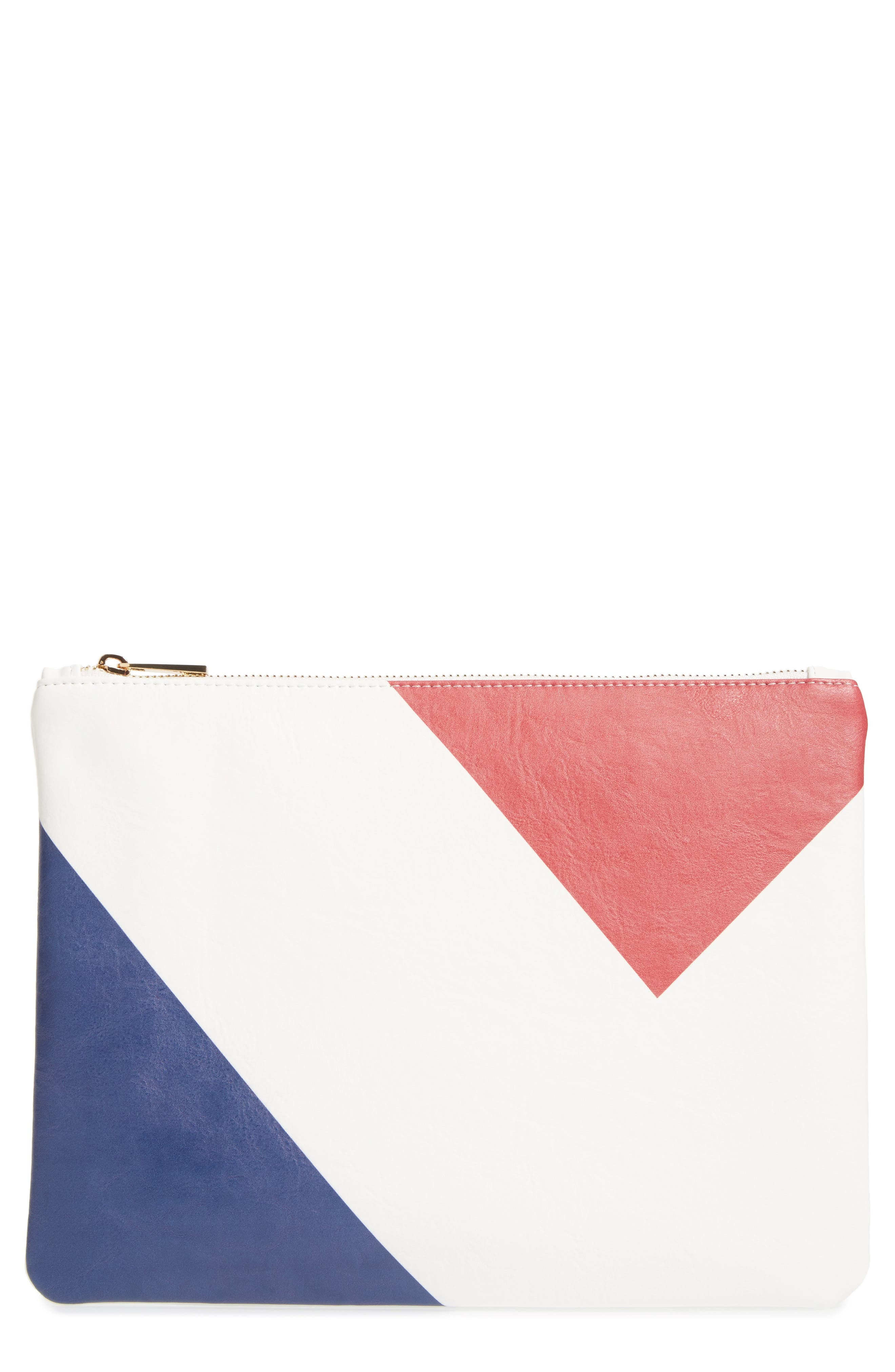 Main Image - BP. Graphic Zip Pouch