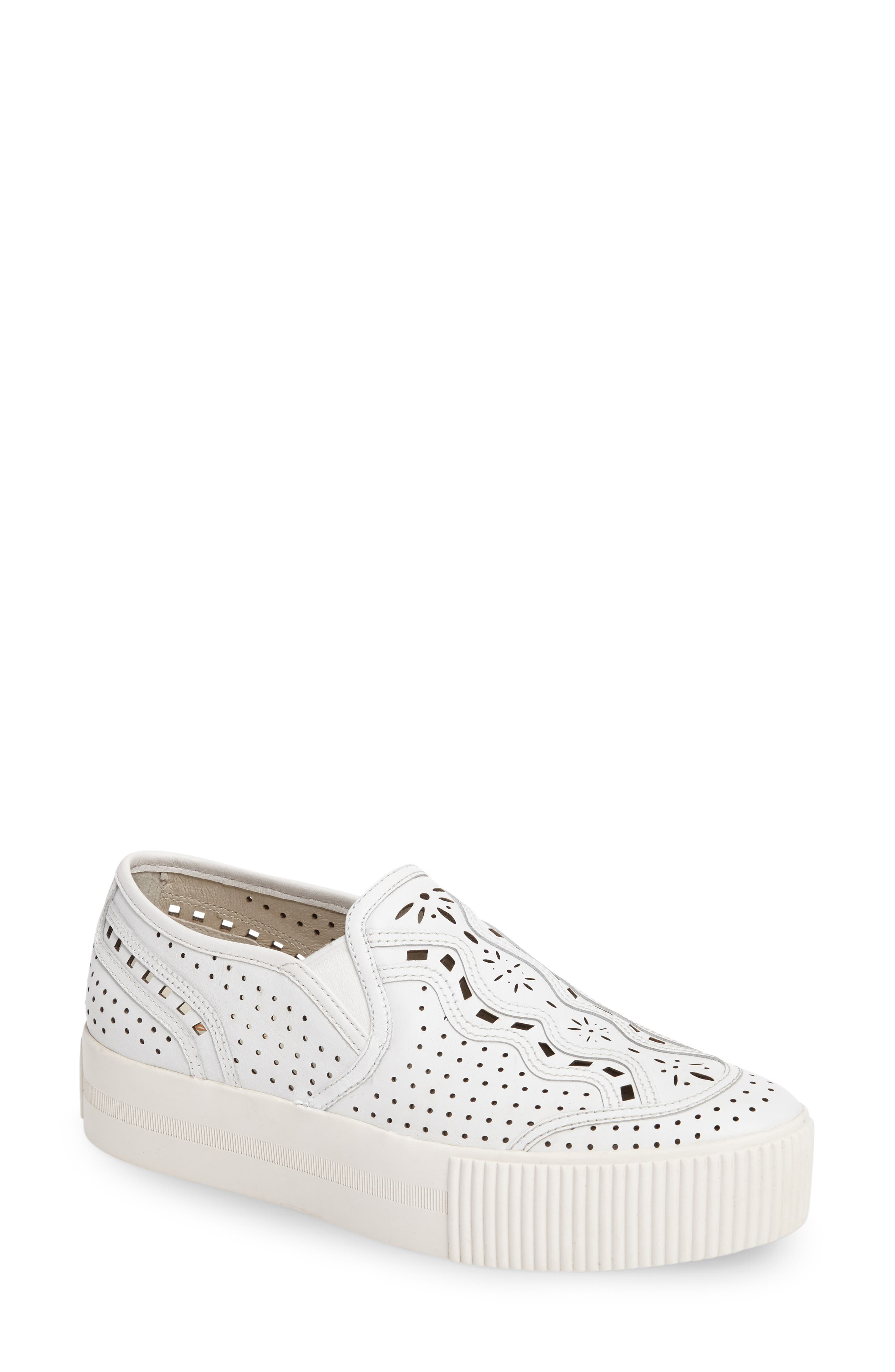 Alternate Image 1 Selected - Ash Kingston Perforated Platform Sneaker (Women)