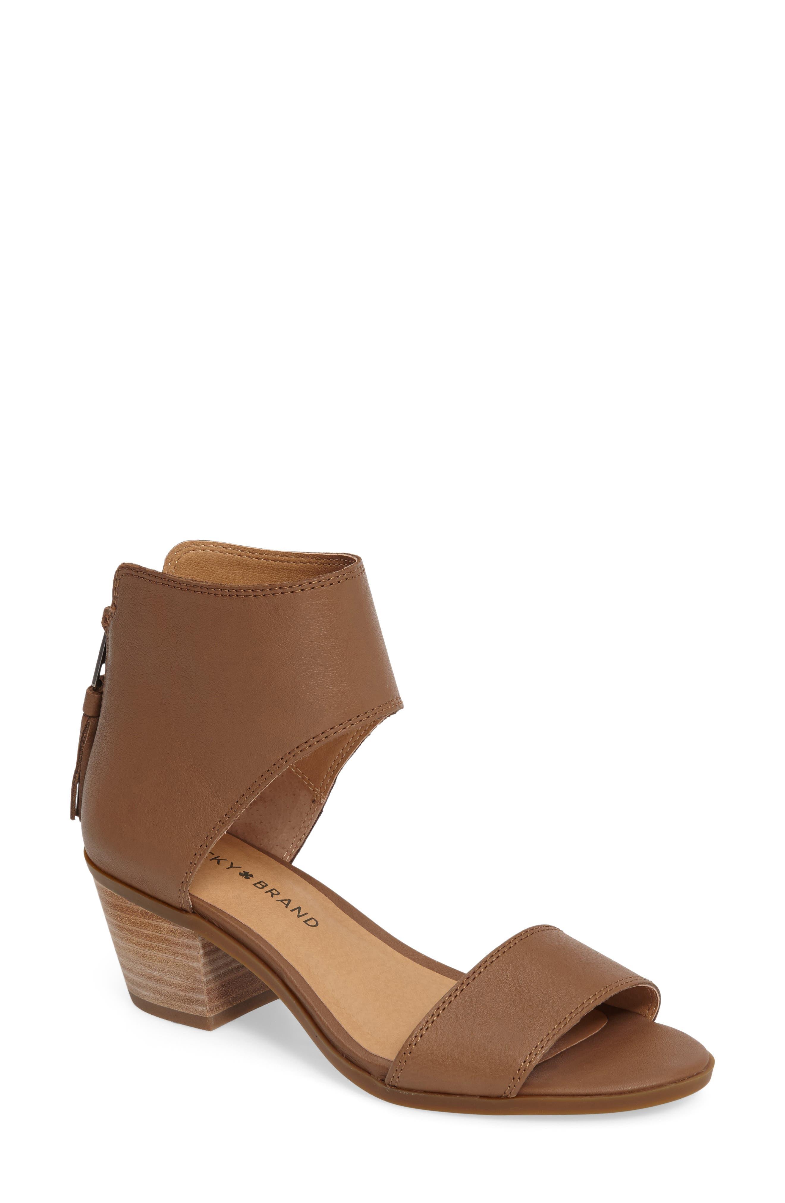 Alternate Image 1 Selected - Lucky Brand Barbina Sandal (Women)