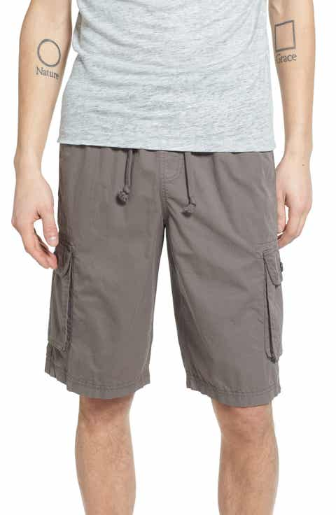 Treasure   Bond Rib Waist Cargo Shorts