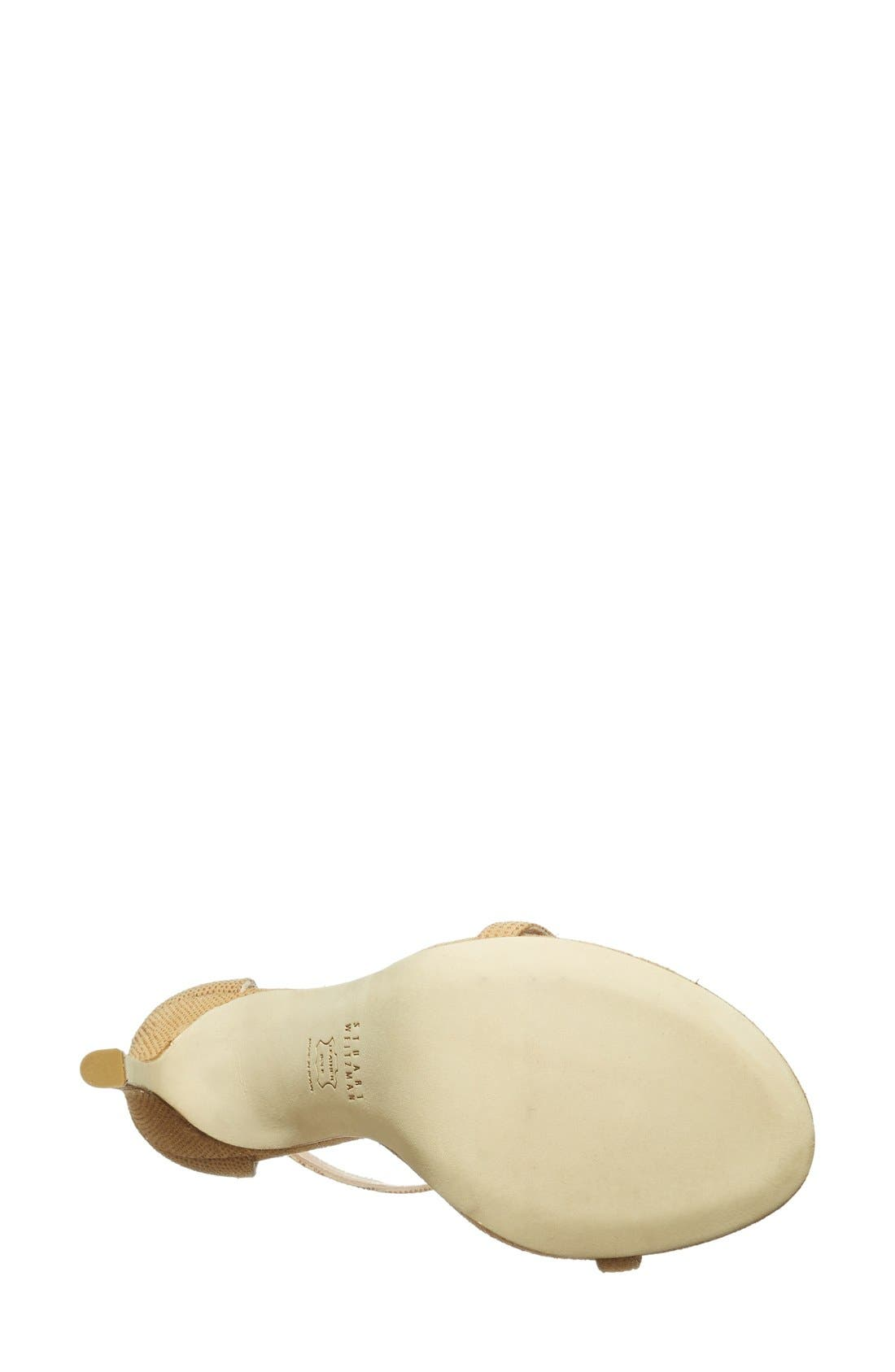 Alternate Image 5  - Stuart Weitzman 'Nudist' Sandal (Women)