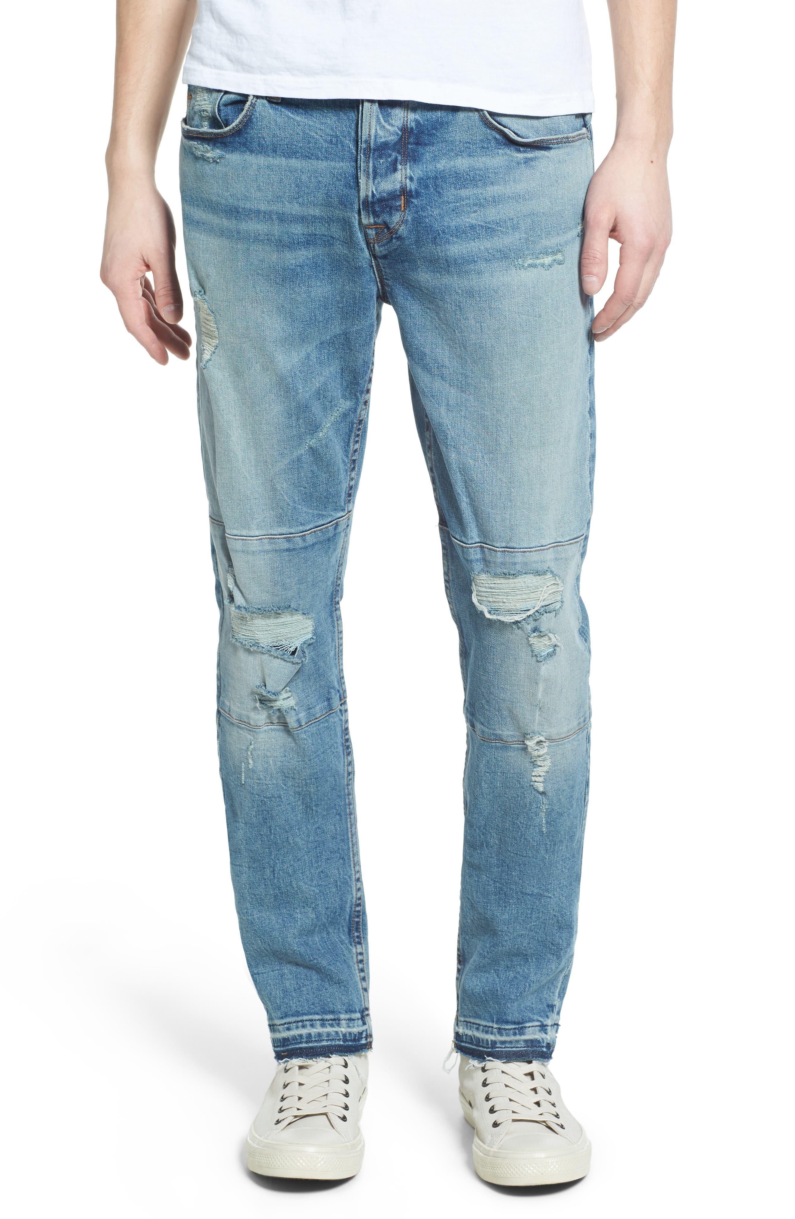Alternate Image 1 Selected - Hudson Jeans Blinder Biker Skinny Fit Jeans