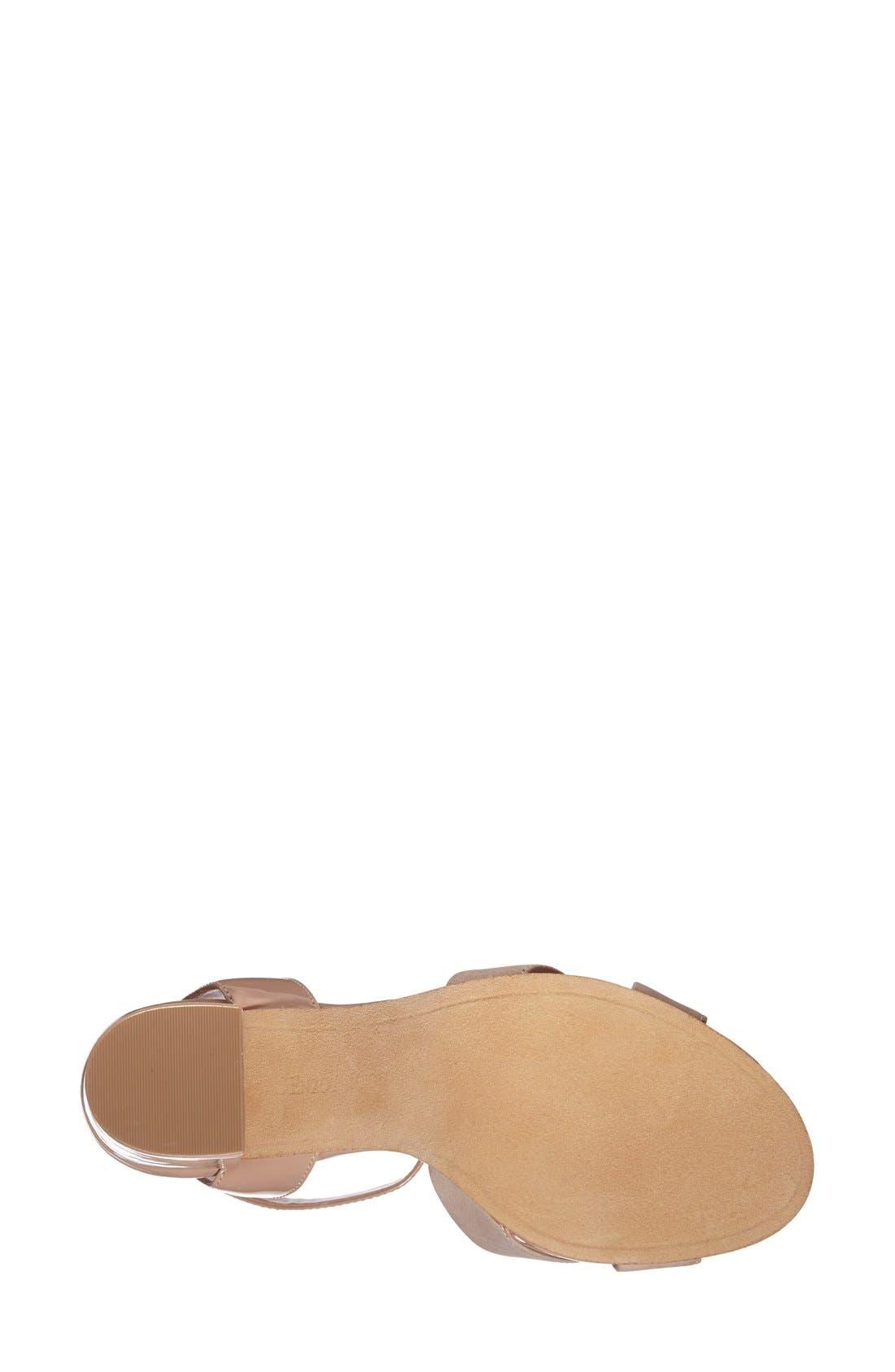 Alternate Image 4  - Enzo Angiolini 'Gabele' Block Heel Sandal (Women)