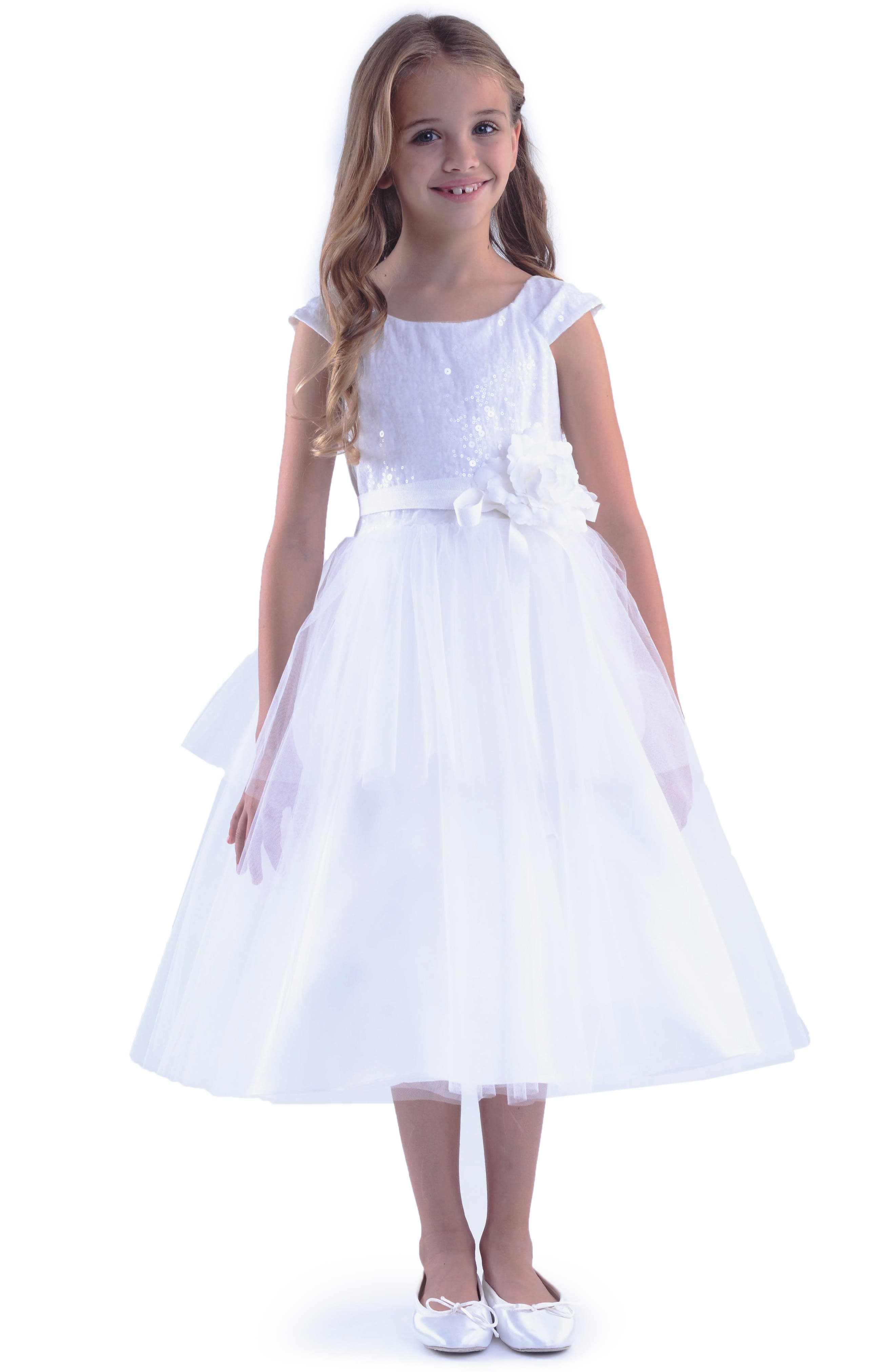 Us Angels Tulle Dress (Big Girls)