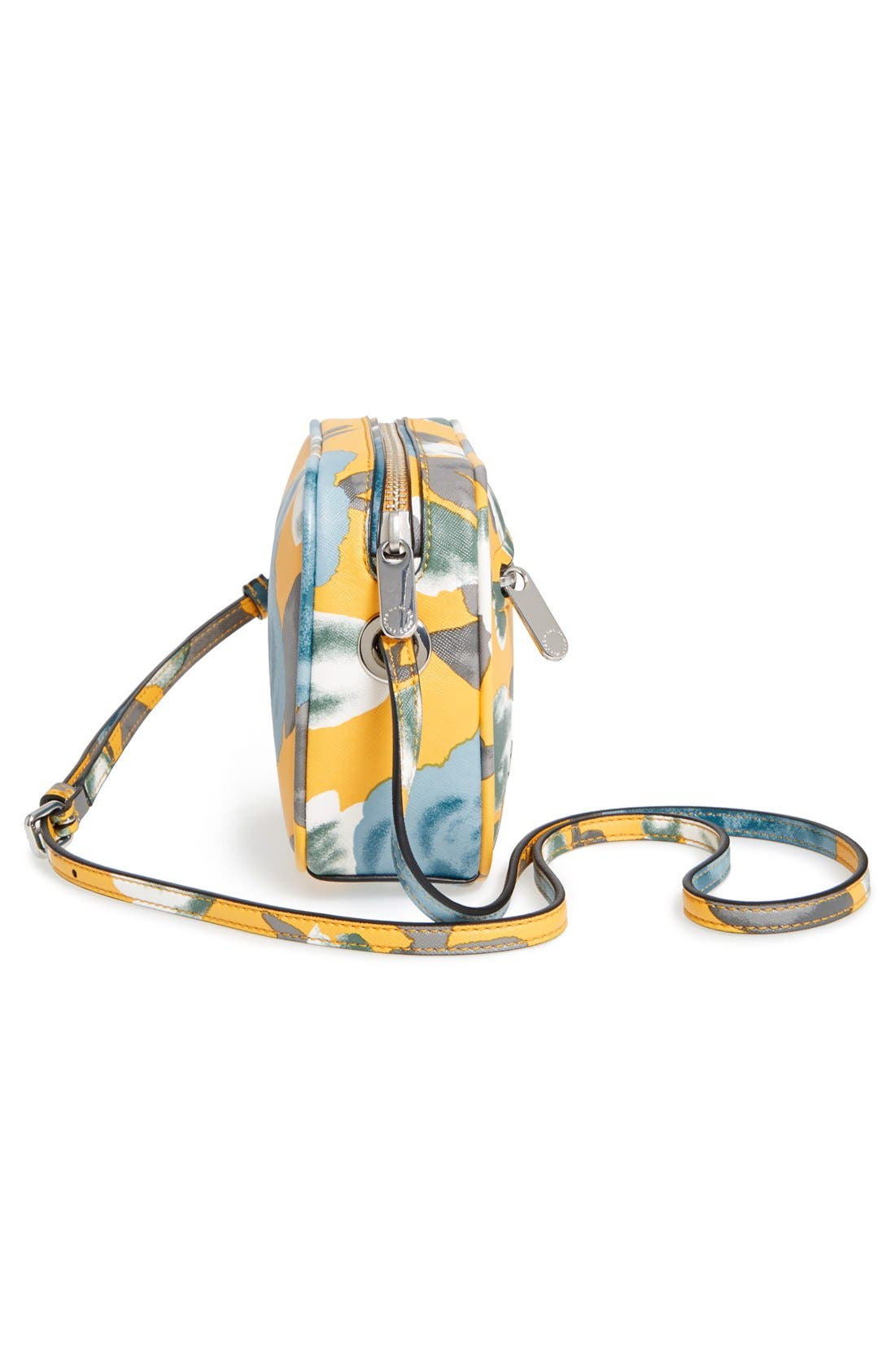 Alternate Image 4  - MARC BY MARC JACOBS 'Jerrie Rose - Sally' Flower Print Crossbody Bag
