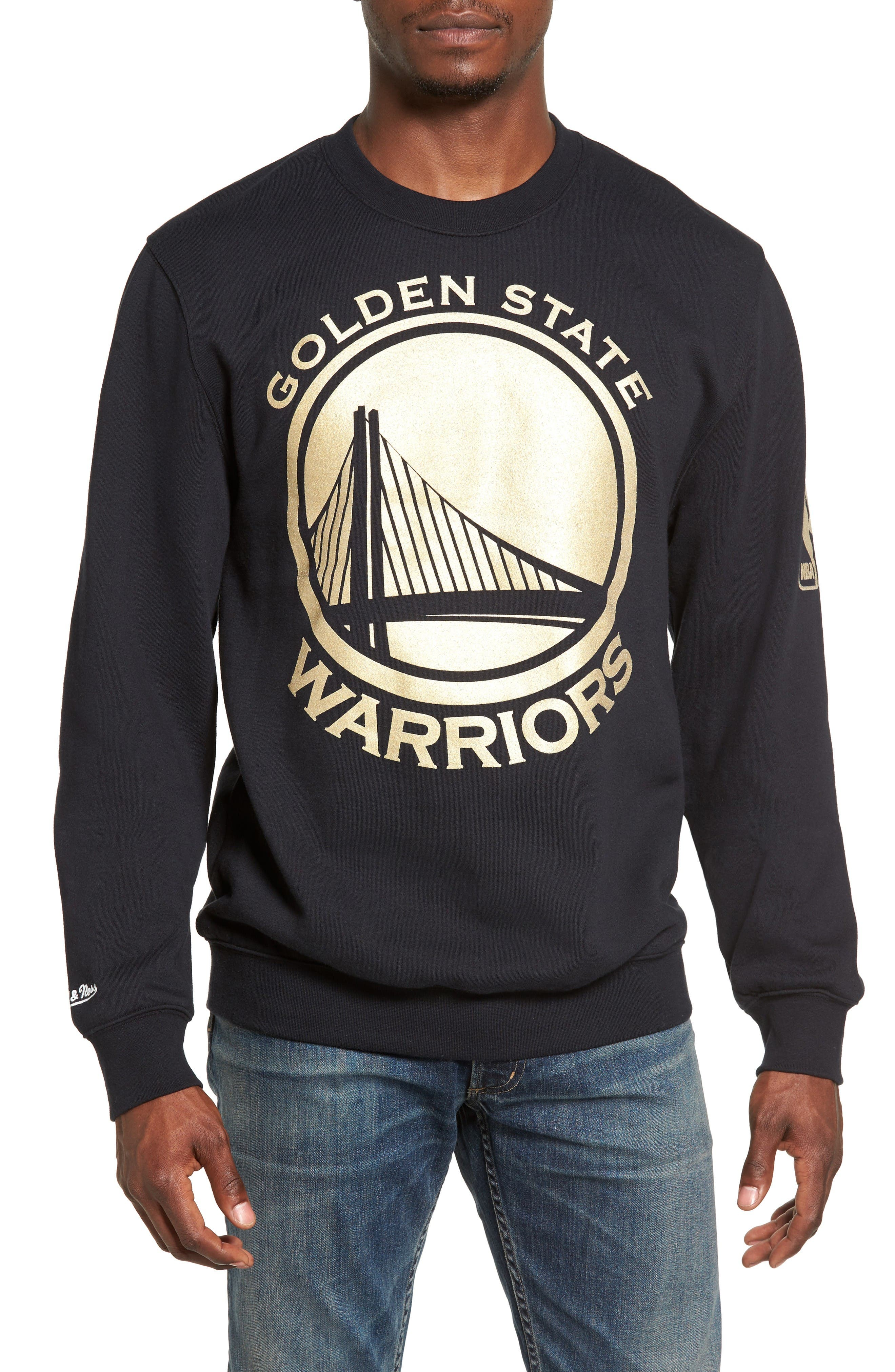 Mitchell & Ness NBA Win Percentage - Golden State Warriors Sweatshirt