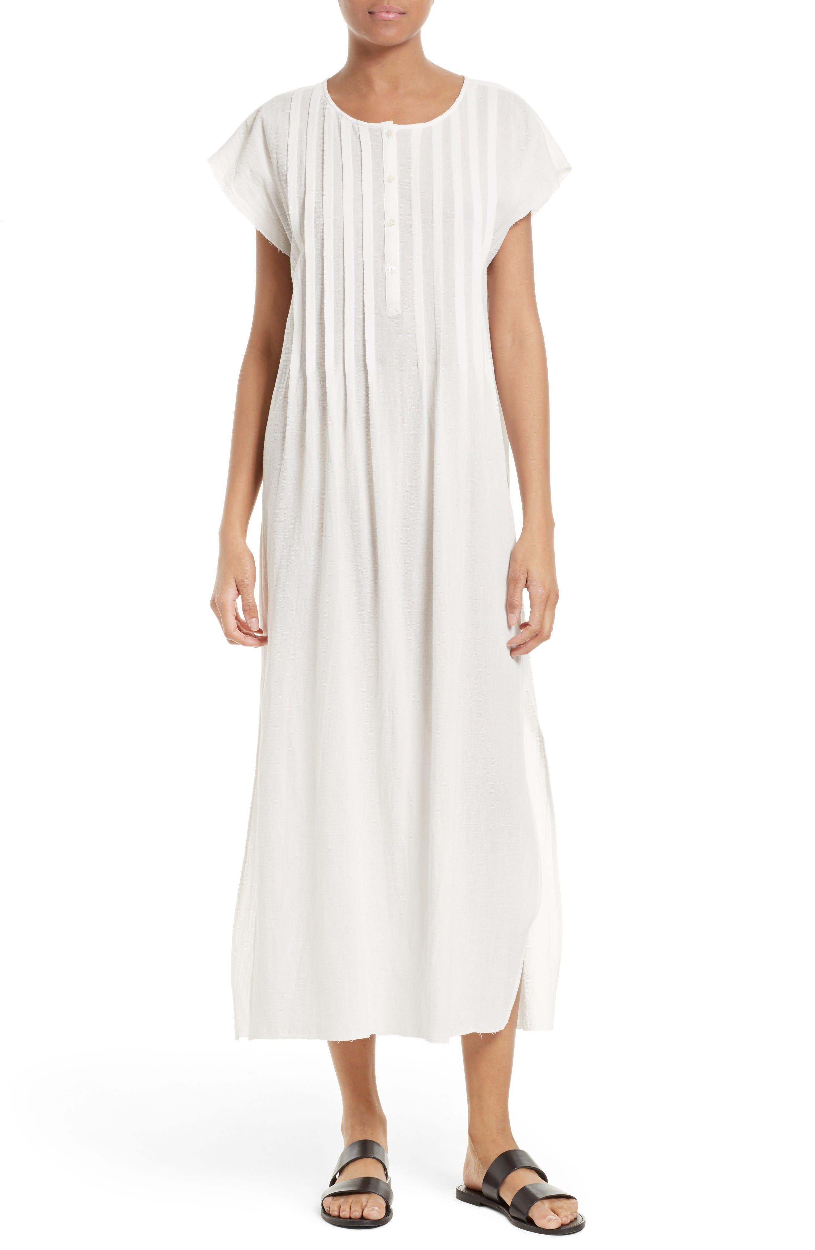 ATM Anthony Thomas Melillo Cotton Gauze Maxi Dress