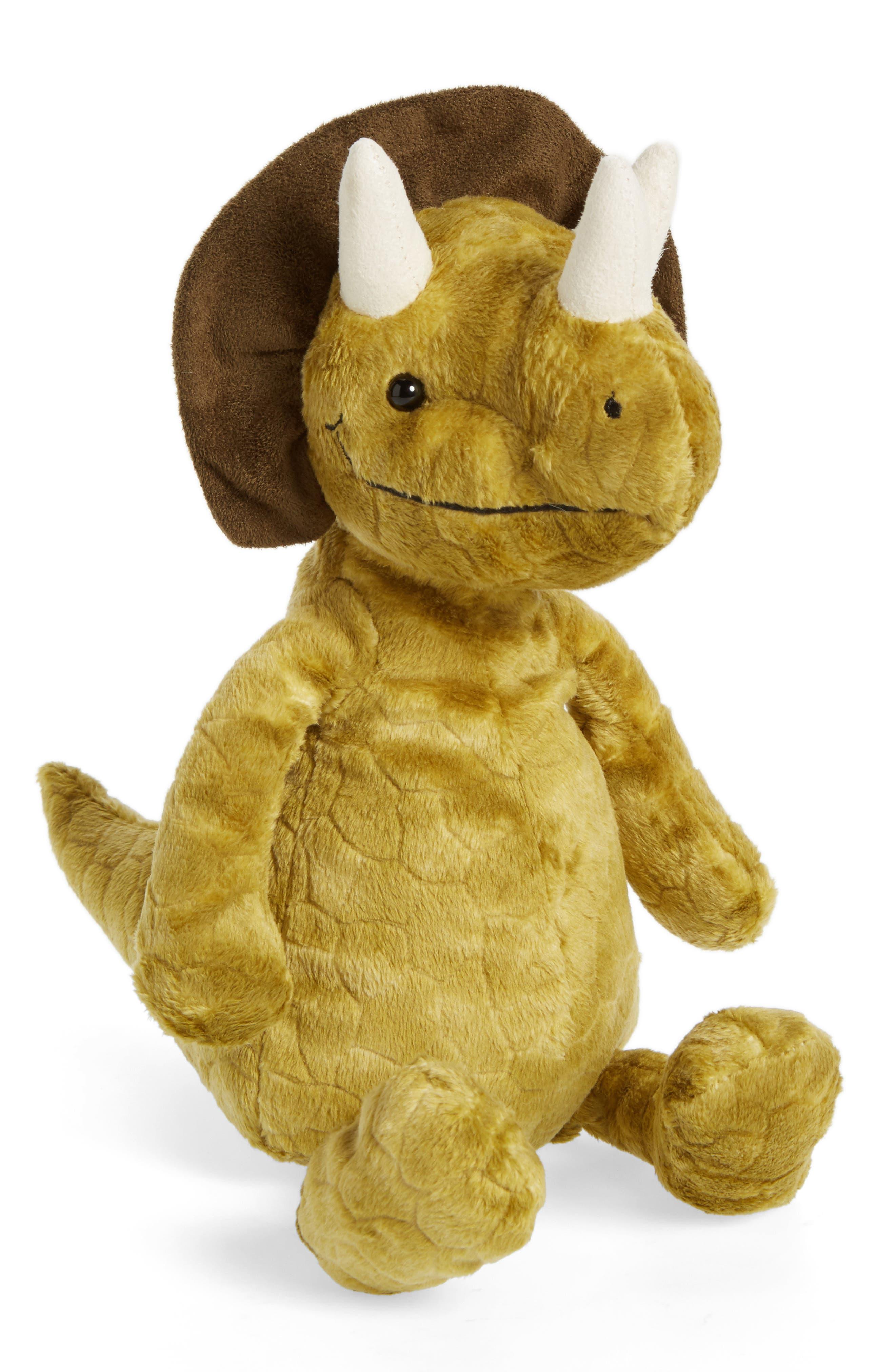 Jellycat Trevor Triceratops Stuffed Animal