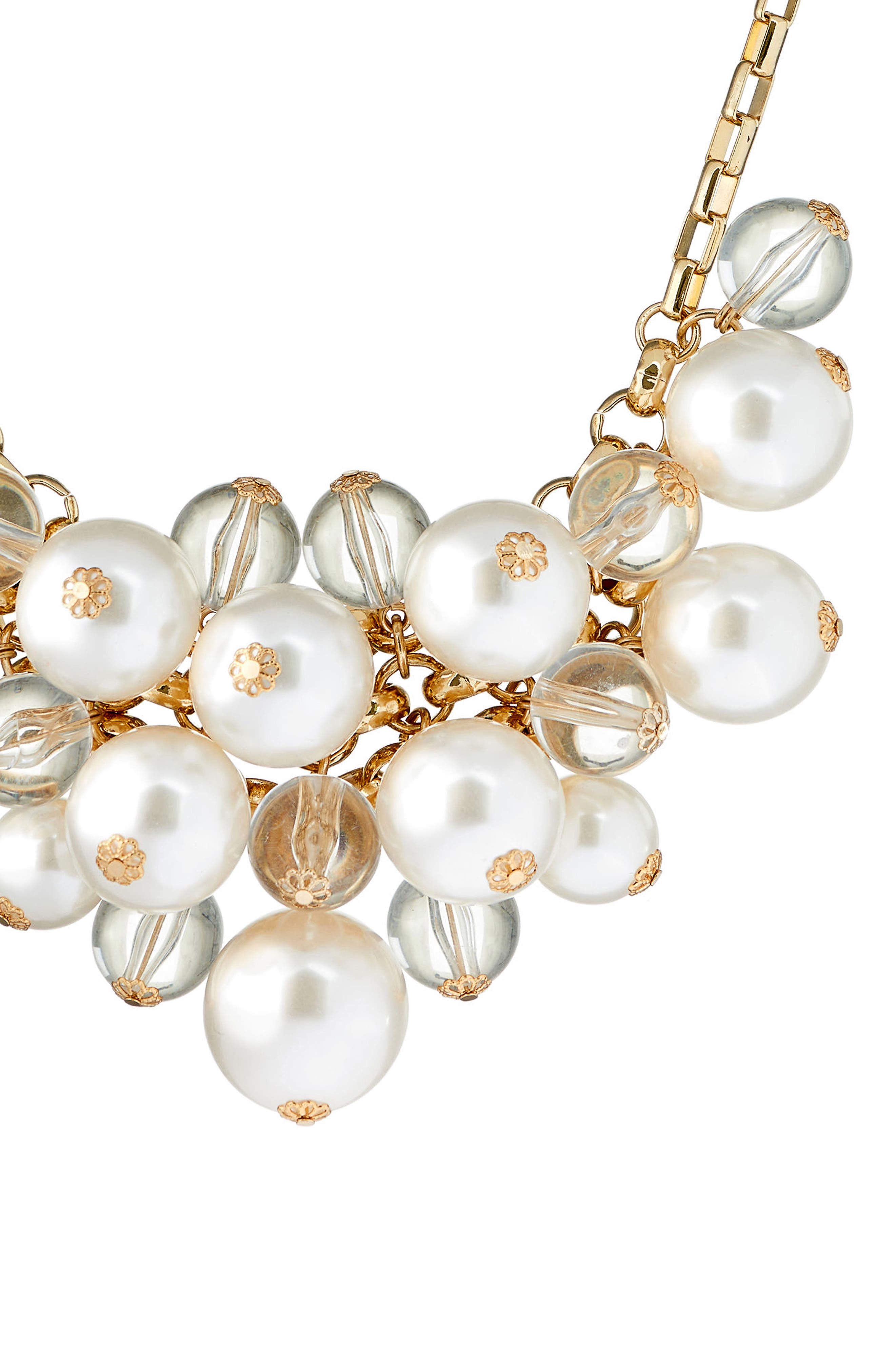 Alternate Image 2  - Ted Baker London Galini Imitation Pearl Cluster Necklace