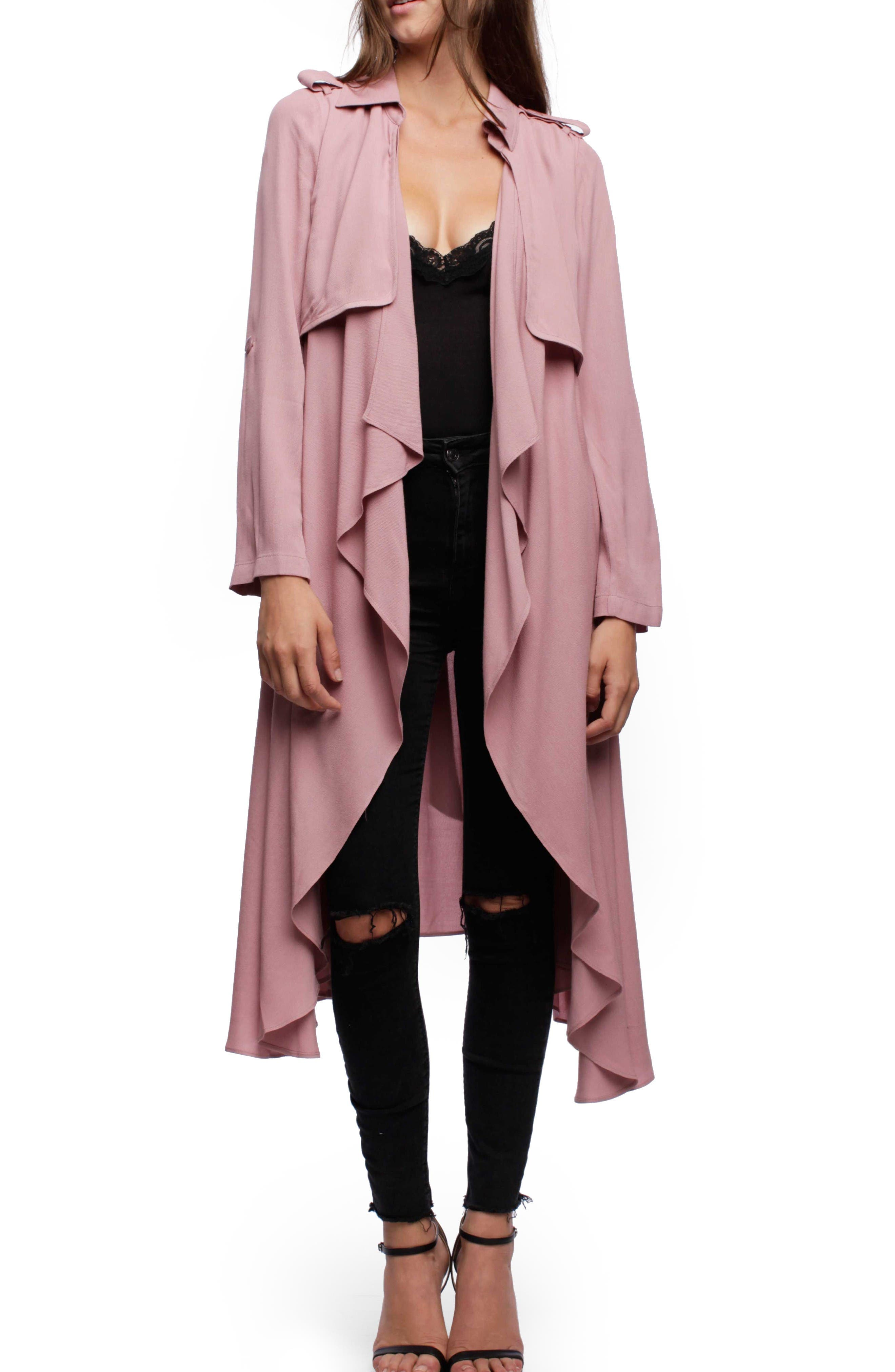 Alternate Image 1 Selected - Line & Dot Robaina Trench Coat